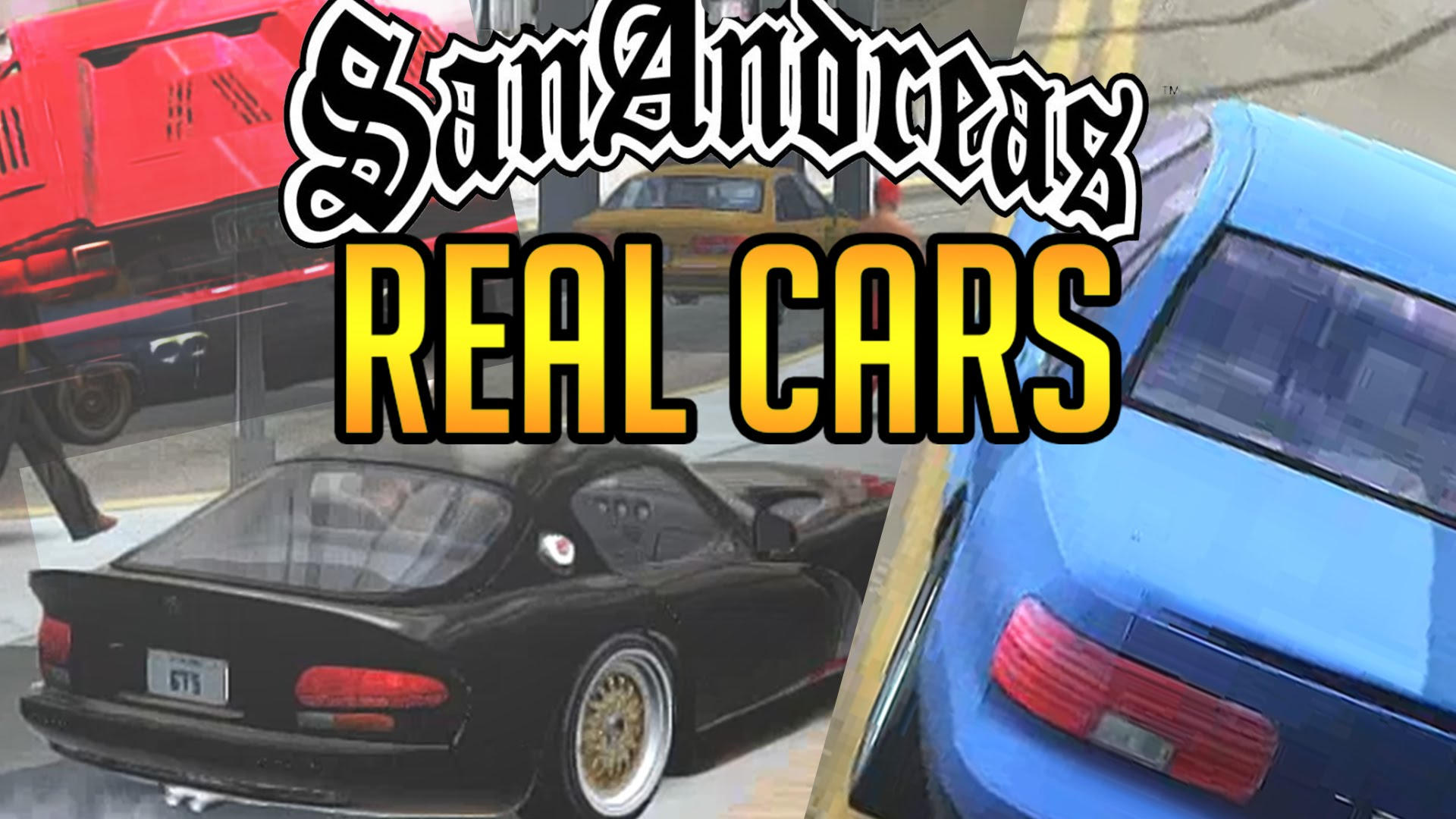 GTA San Andreas ALL CARS MOD (Real Cars) - YouTube