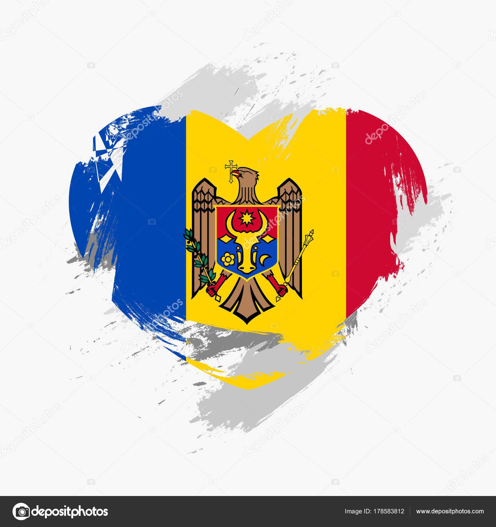 Flag of Moldova — Stock Vector © yujiro2014 #178583812