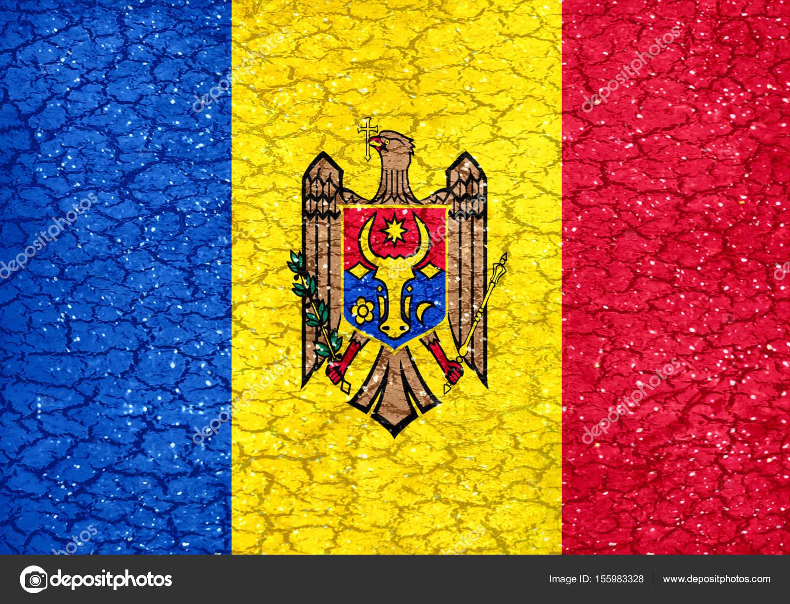 Moldova Grunge Style National Flag — Stock Photo © DanFLCreativo ...