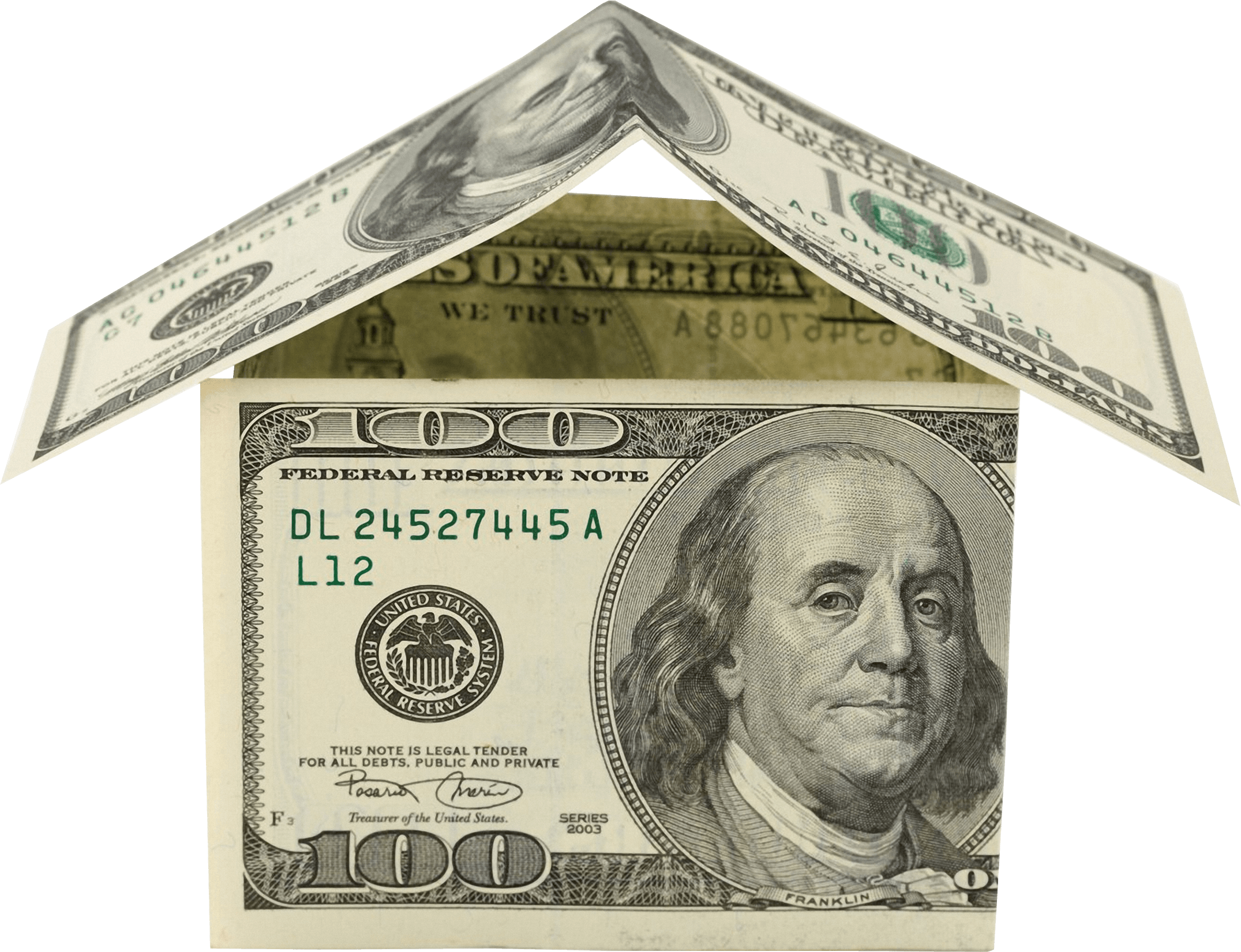 Money House Dollars transparent PNG - StickPNG