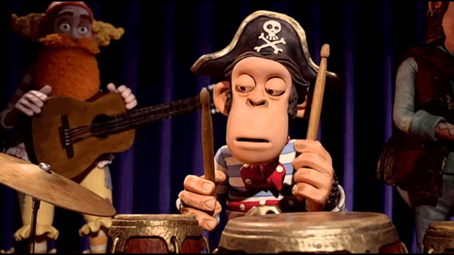 The Best GIF's With Sound 103 #monkey #band #drummer #bored #funny ...