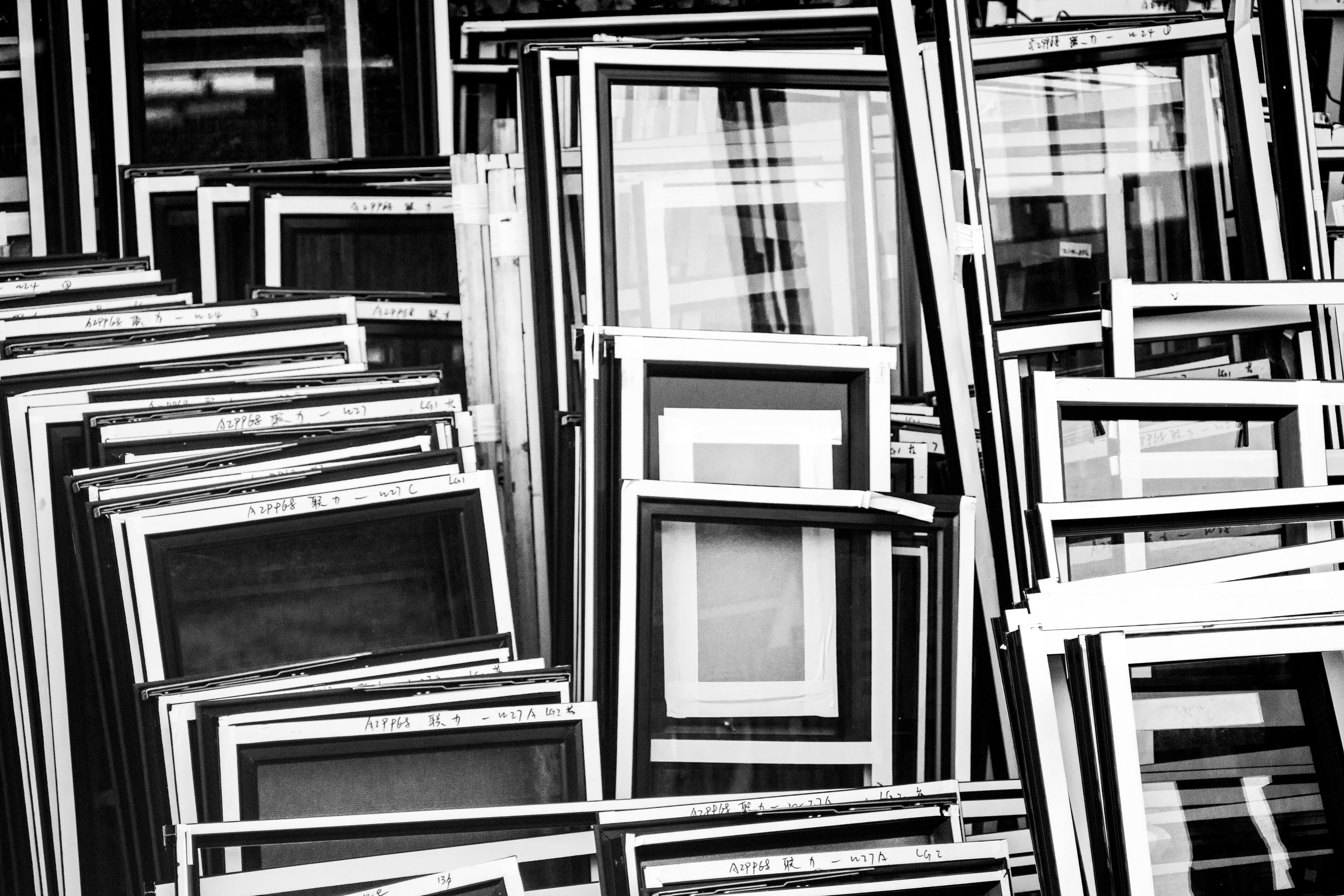 Monochrome Photography of Frames, Art, Black-and-white, Design, Frames, HQ Photo