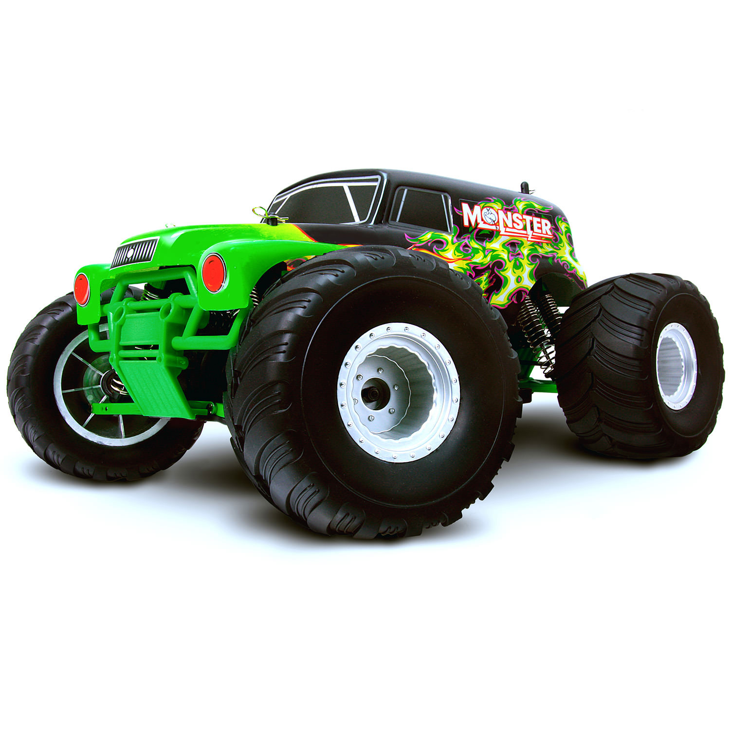 HSP Monster Truck Special Edition Green RC Truck at Hobby Warehouse