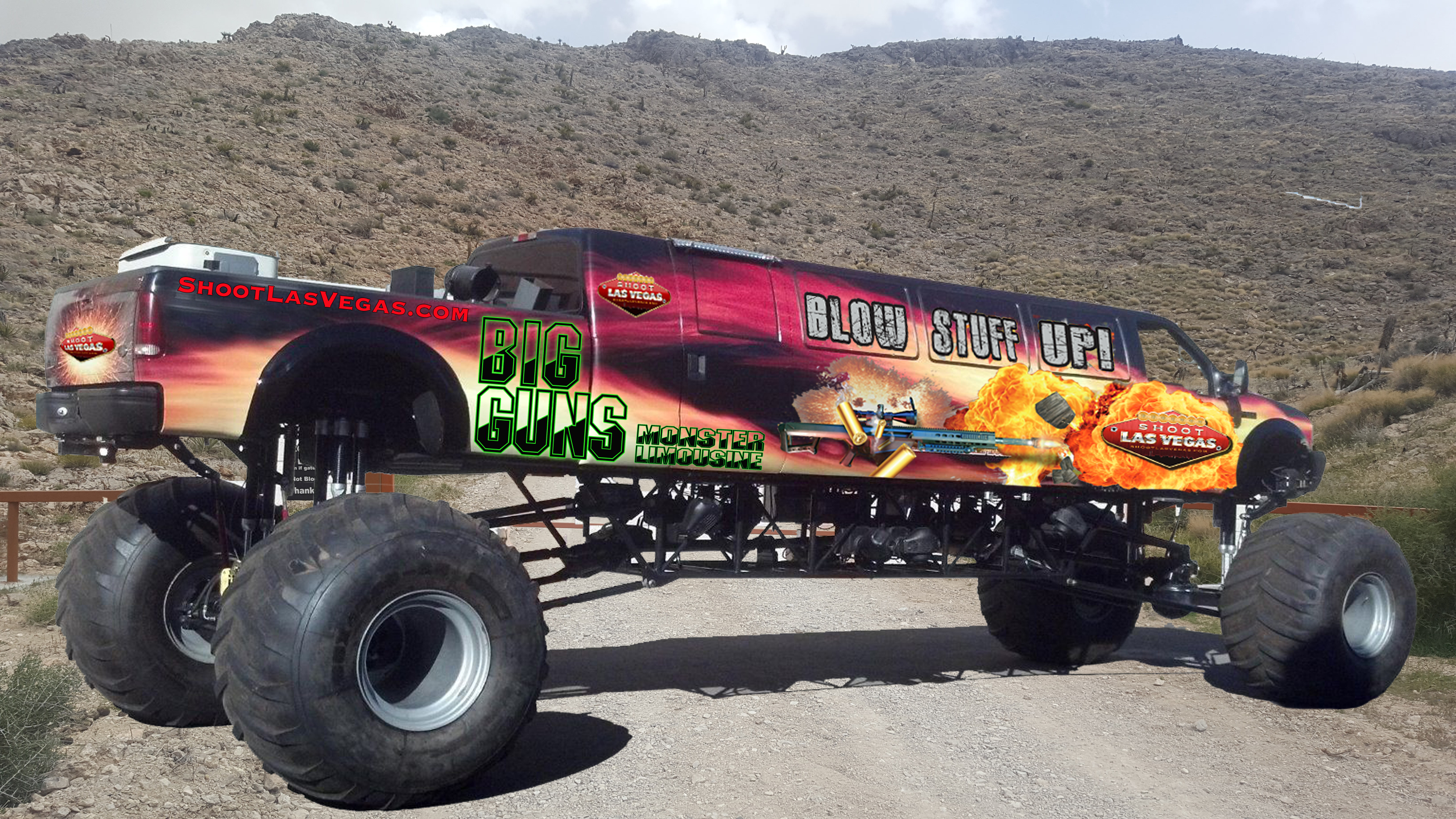 World's longest monster truck to hit trade show circuit | Medium ...