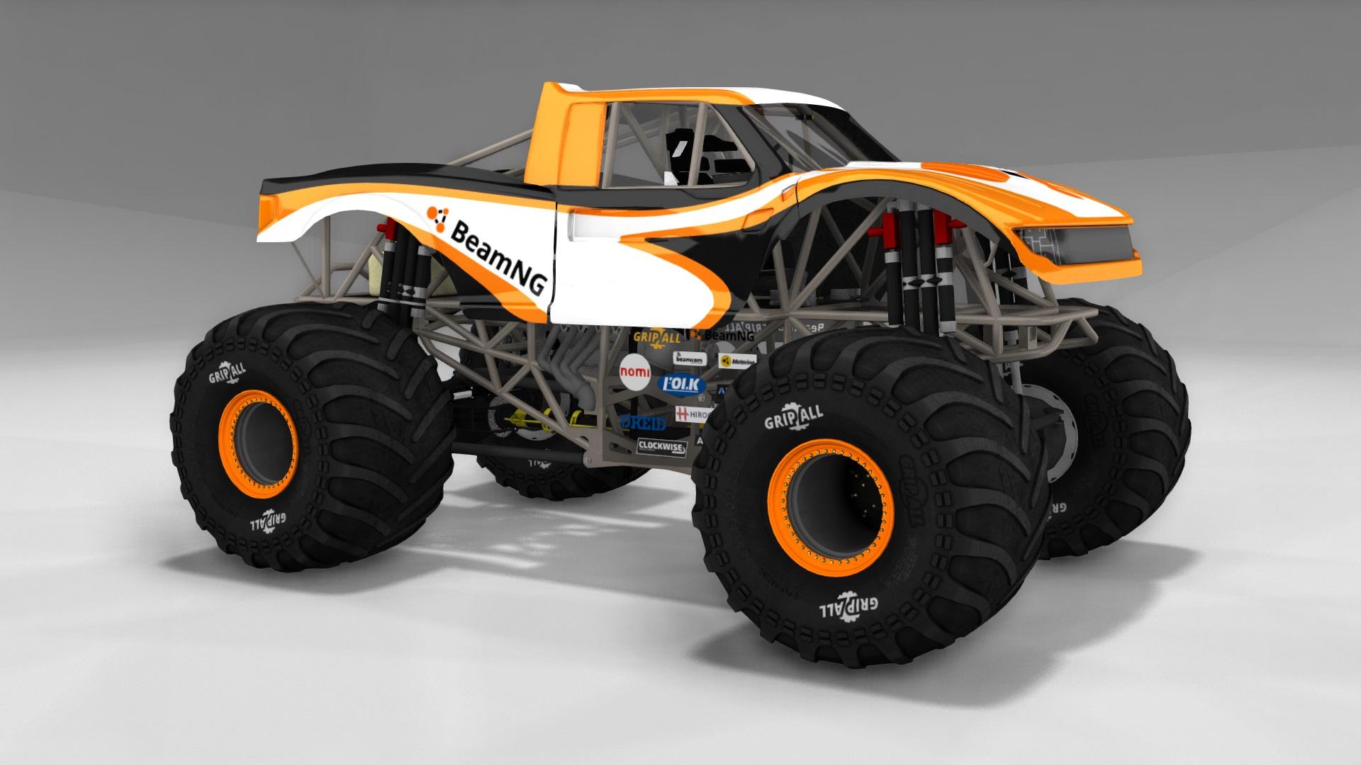 Released - Revamped CRD Monster Truck | BeamNG