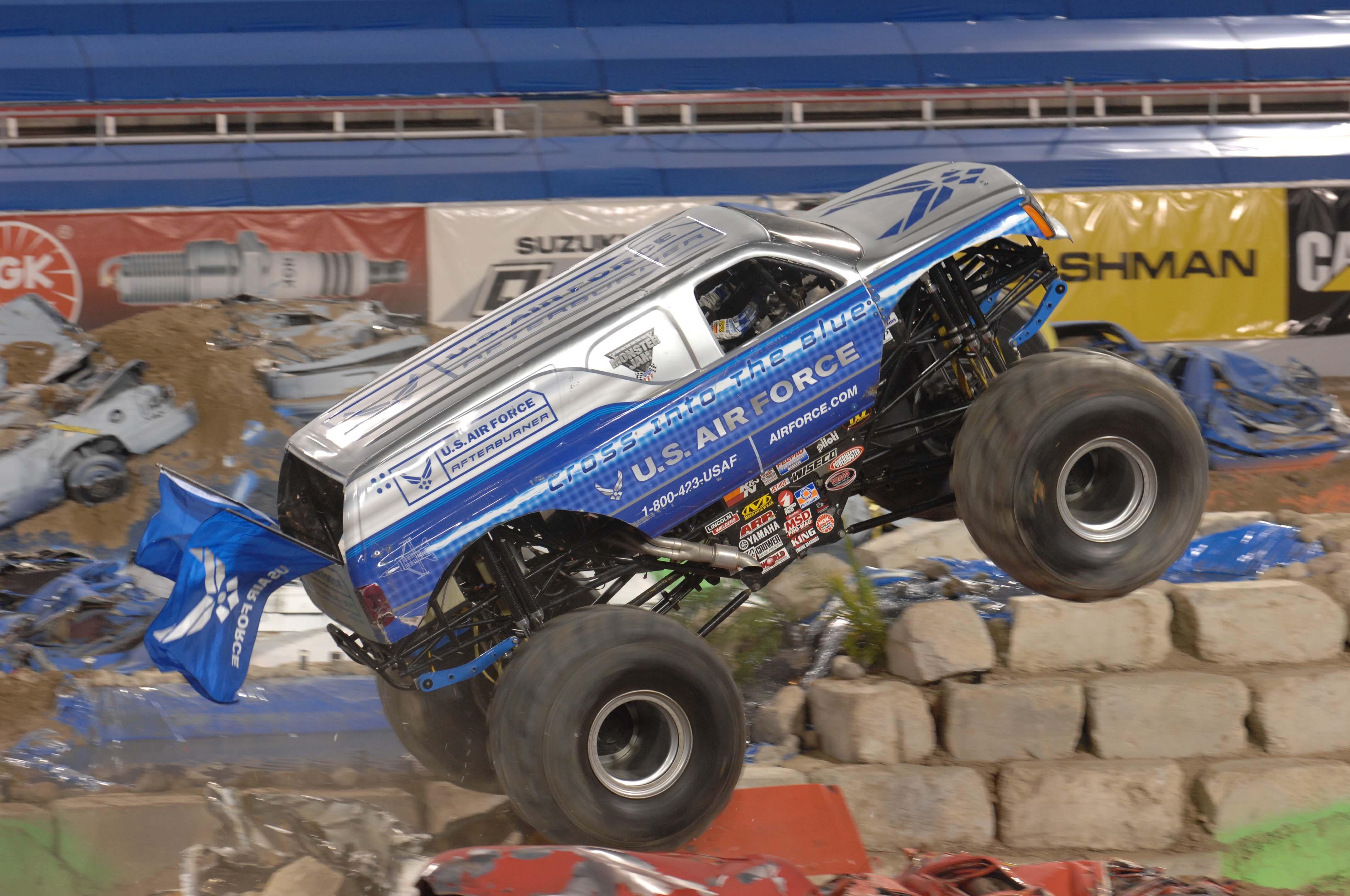 Monster Truck, Giant, Monster, Race, Racing, HQ Photo