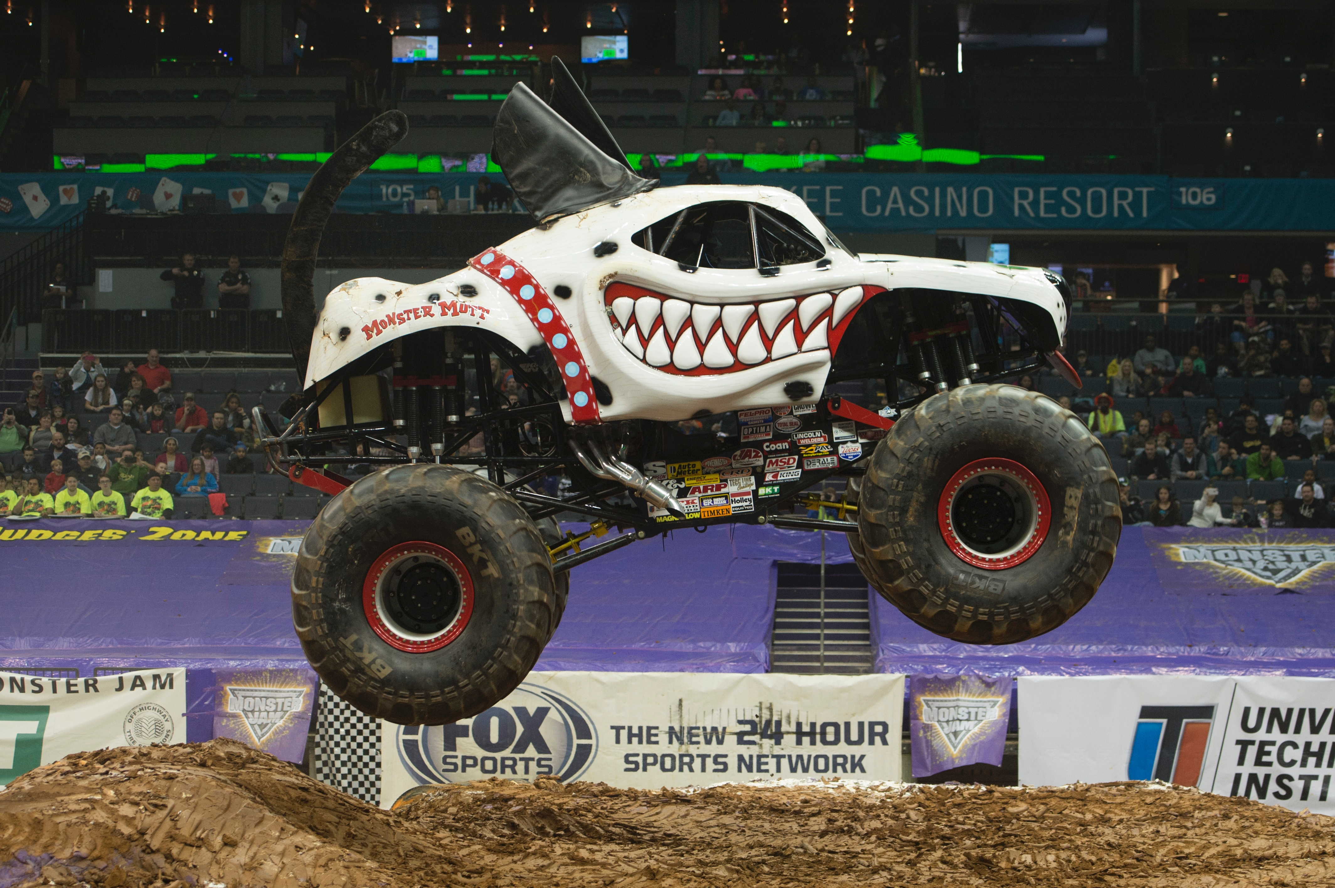 First female Canadian monster truck driver has need for speed