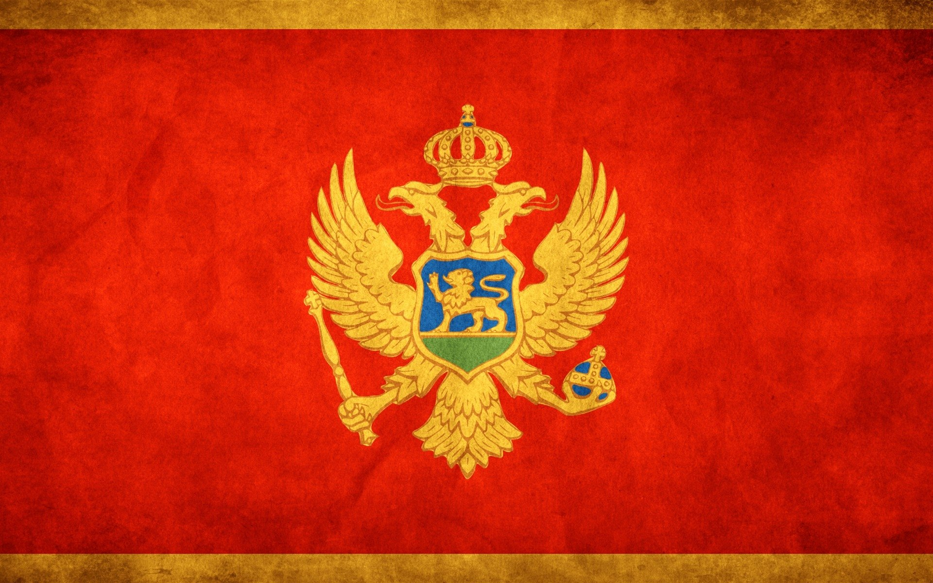 2 Flag Of Montenegro HD Wallpapers | Background Images - Wallpaper Abyss