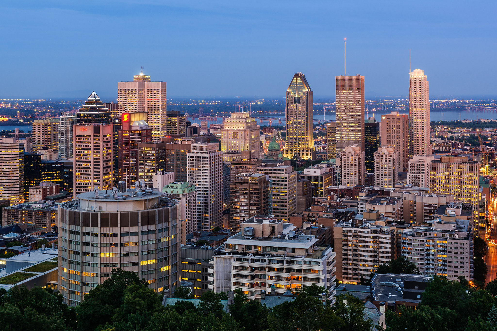 Great spots to shoot the Montreal Skyline - Another Angle
