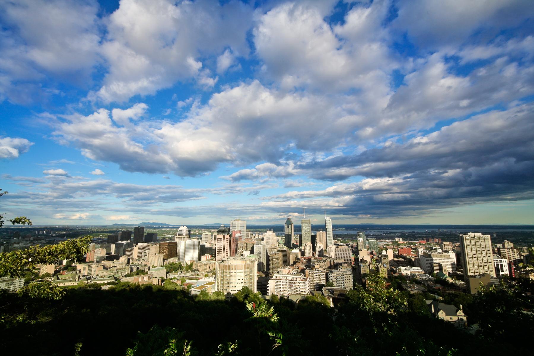 Montreal Cityscape, Altitude, Skyscraper, Photograph, Picture, HQ Photo