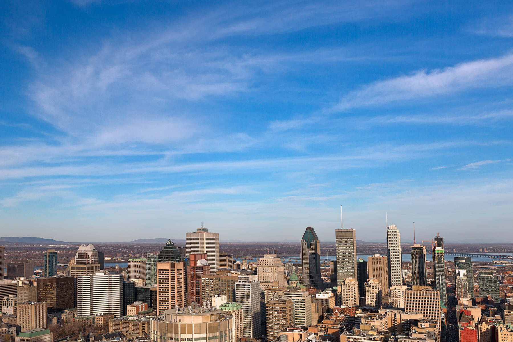 Montreal skyline - hdr photo