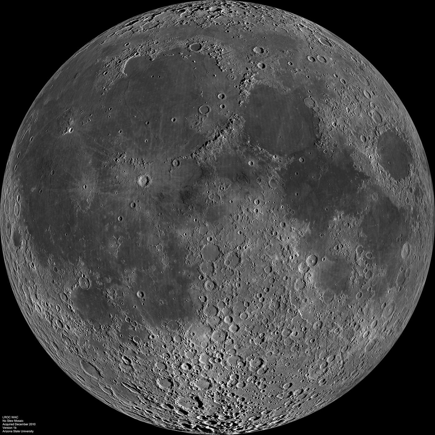 Moon Fact Sheet