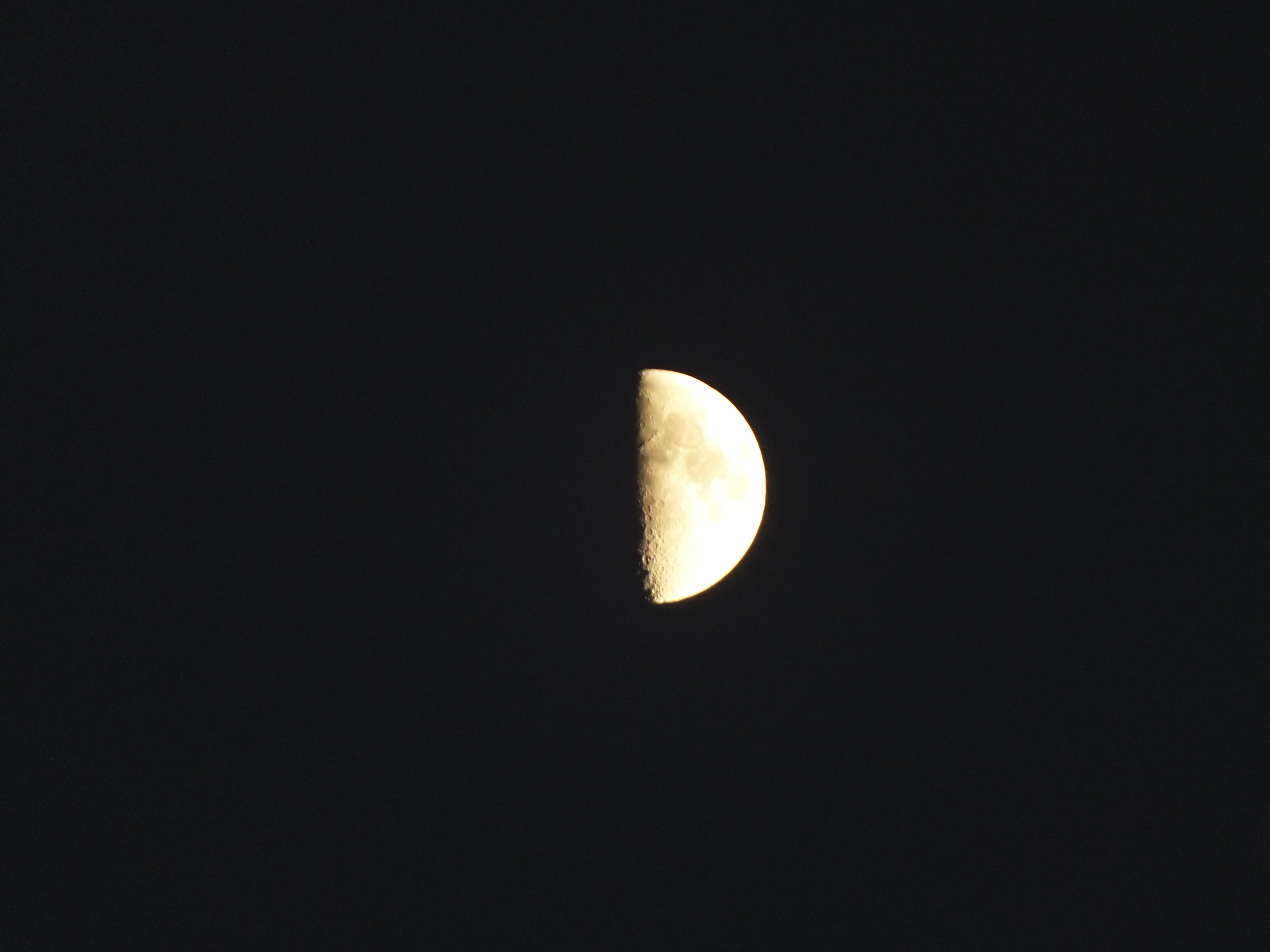 Moon, Black, Lunar, Planet, Sky, HQ Photo