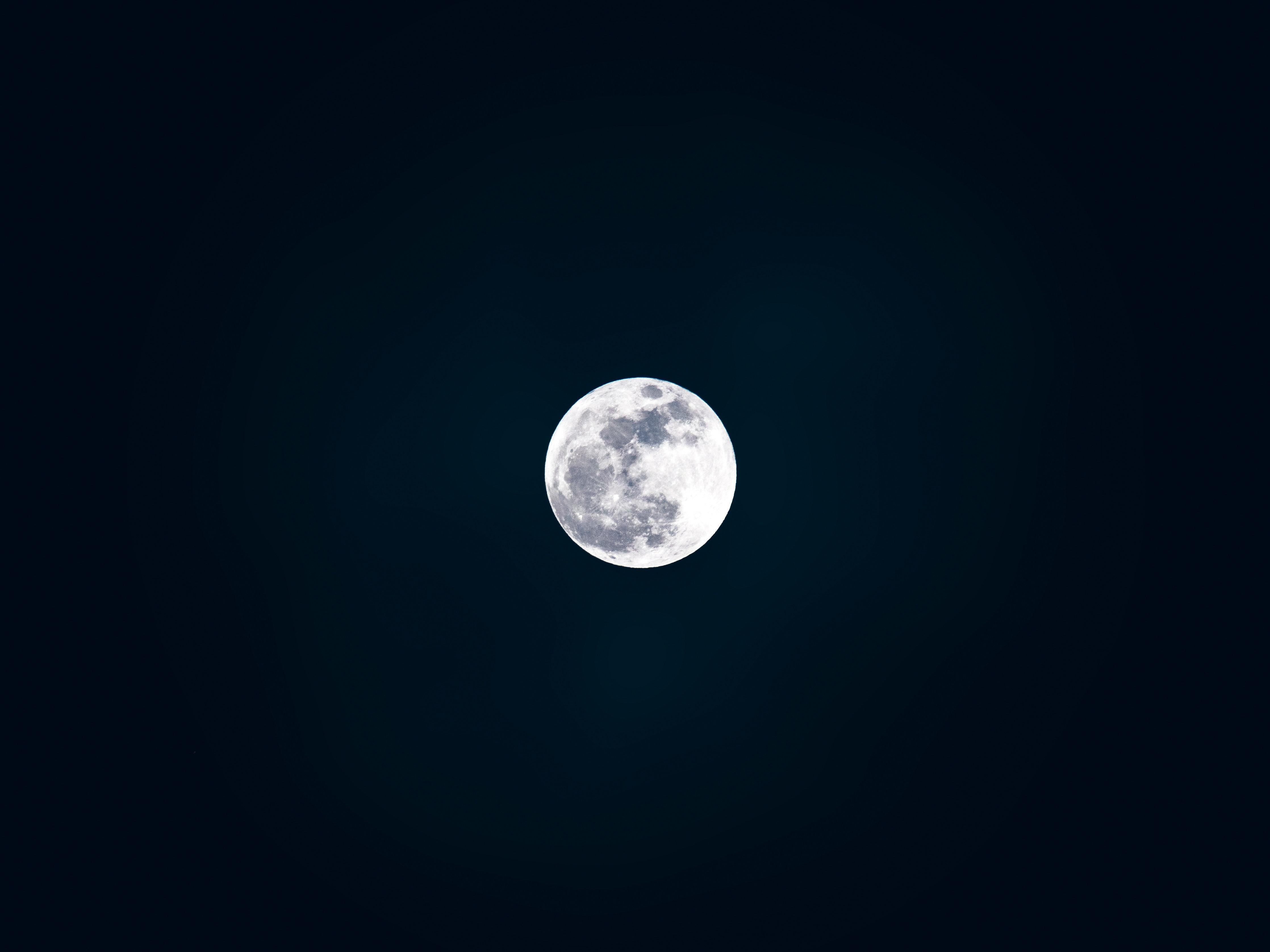Free stock photo of black wallpaper, cosmos, full moon