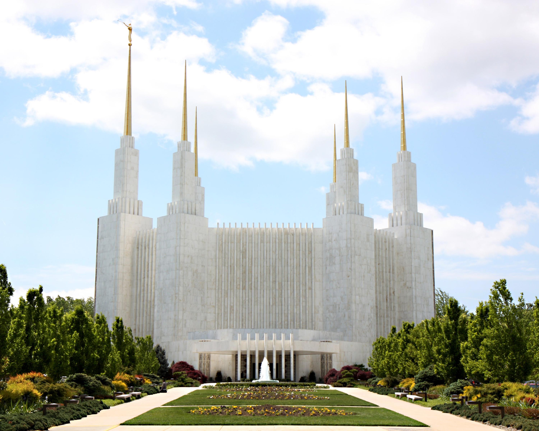 Washington D.C. Temple Entrance
