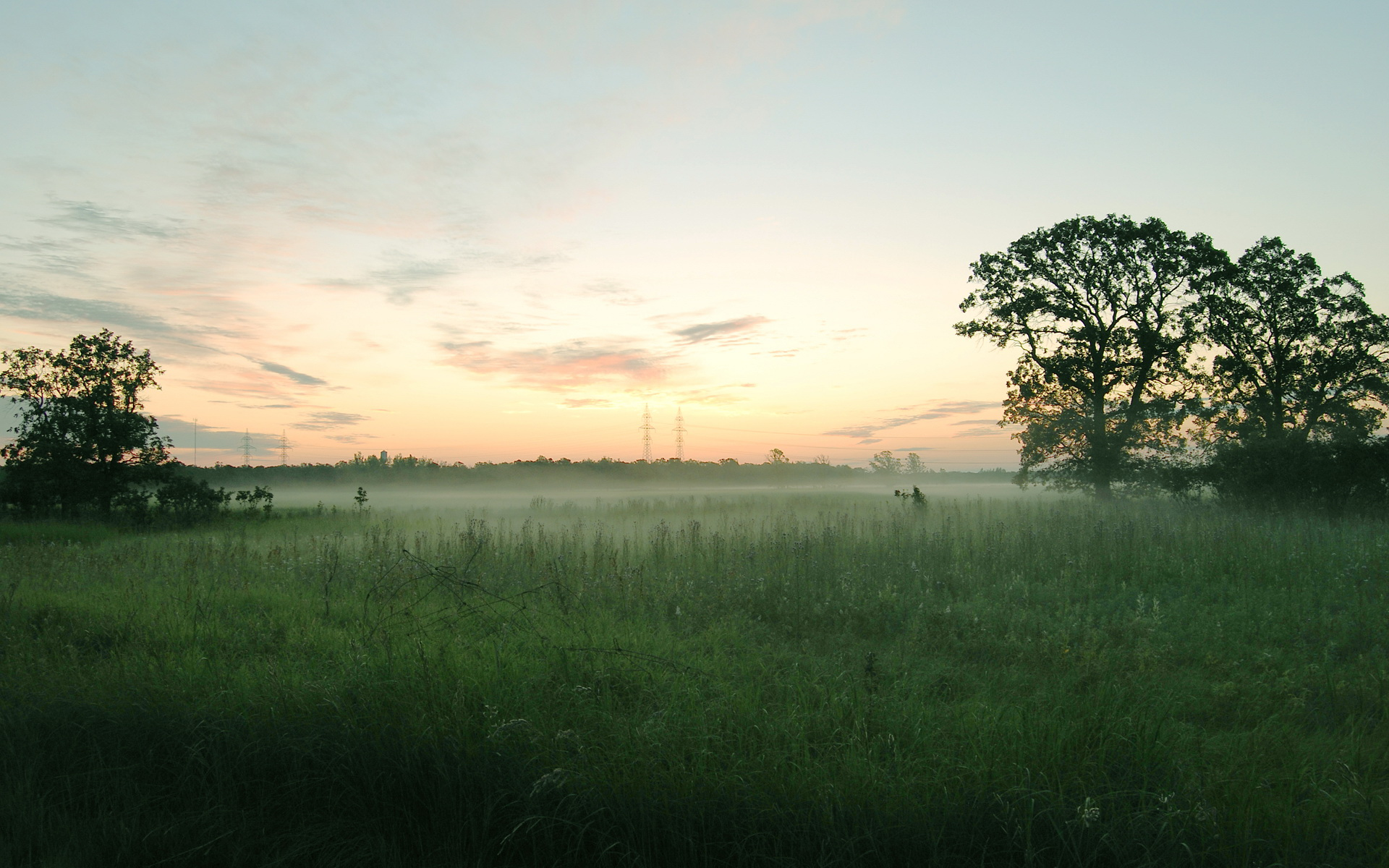 Morning fog / 1920 x 1200 / Sunriseandsunset / Photography ...