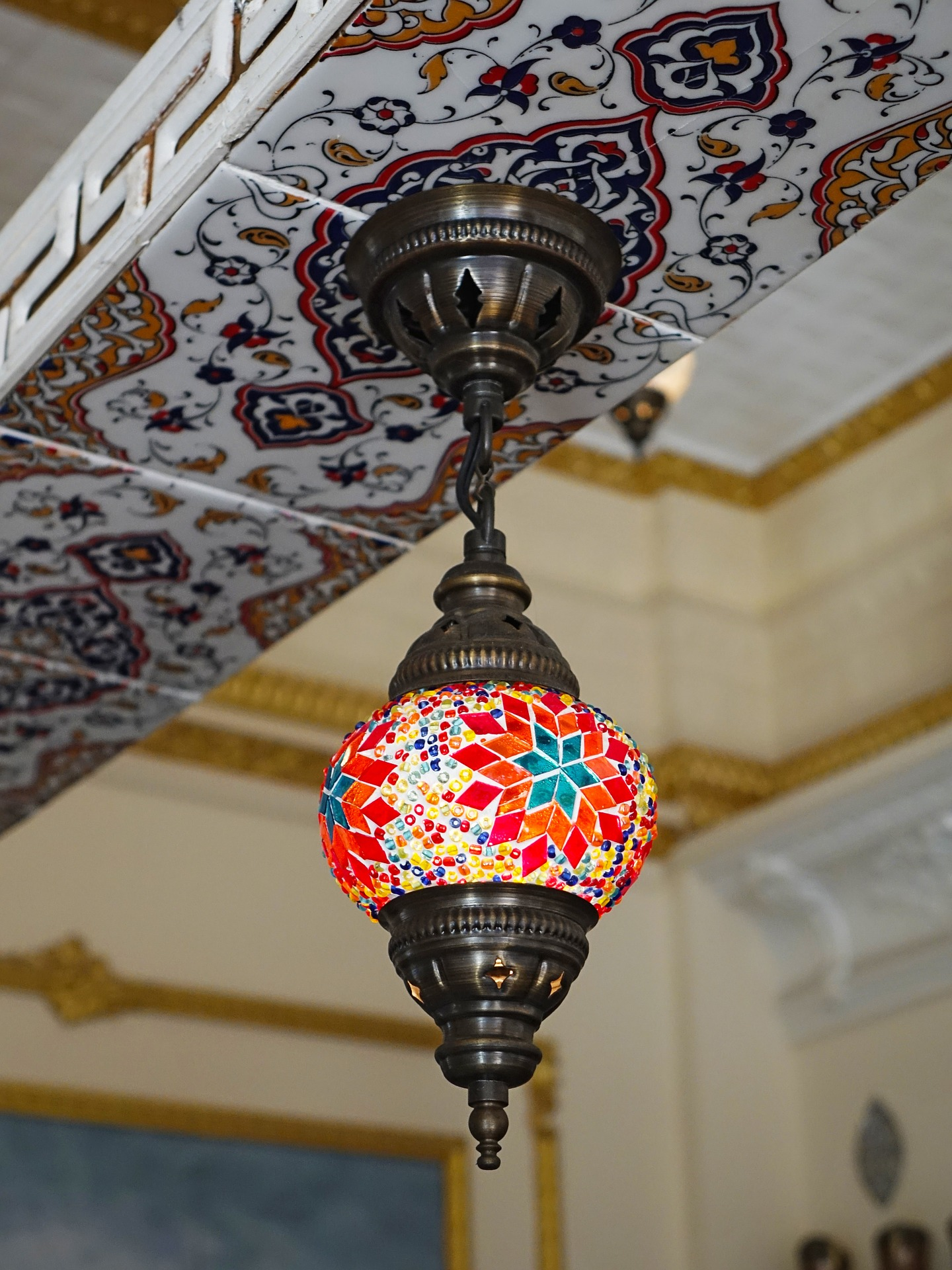 Morrocan Design, Design, Lamp, Lantern, Light, HQ Photo