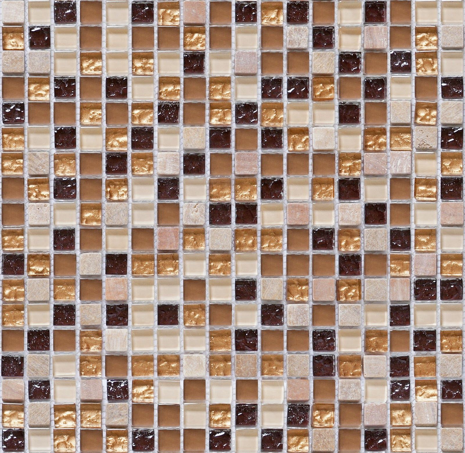 Seamless Mosaic Tiles Texture + (Maps) | texturise | texturi ...
