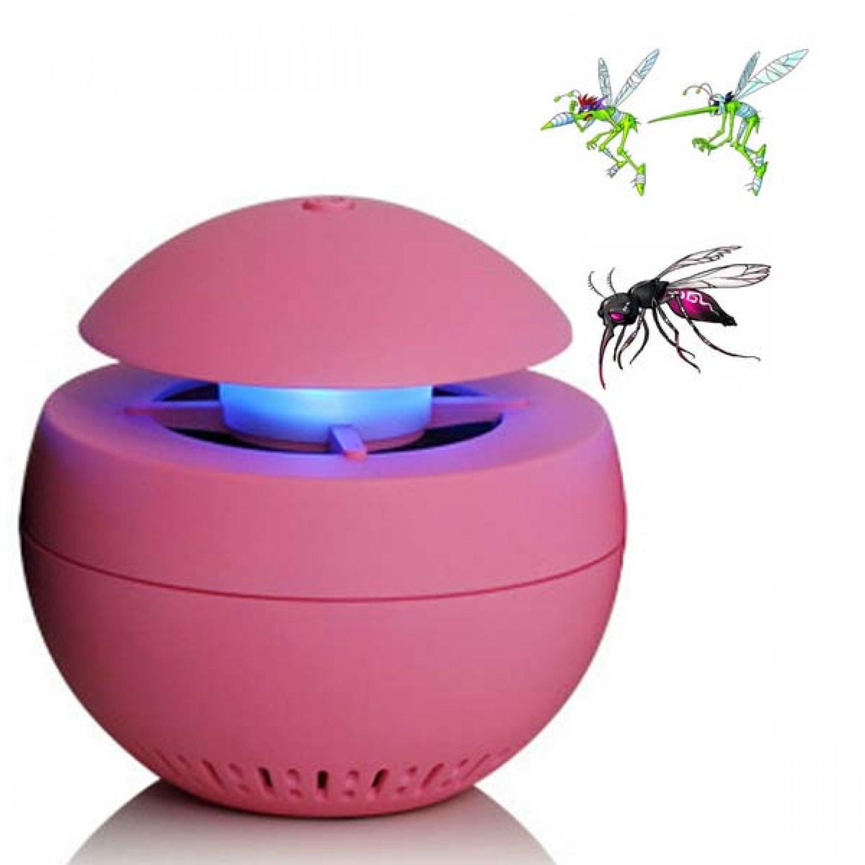 Mosquito Killer Led Night Light Aroma - Pink