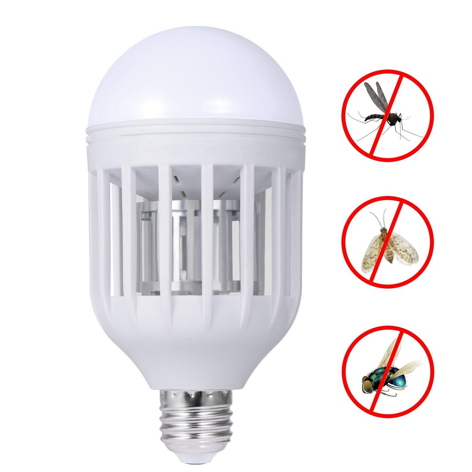 Electronic Mosquito Insect Killer Bug Zapper Light Bulb Fits in 110v ...