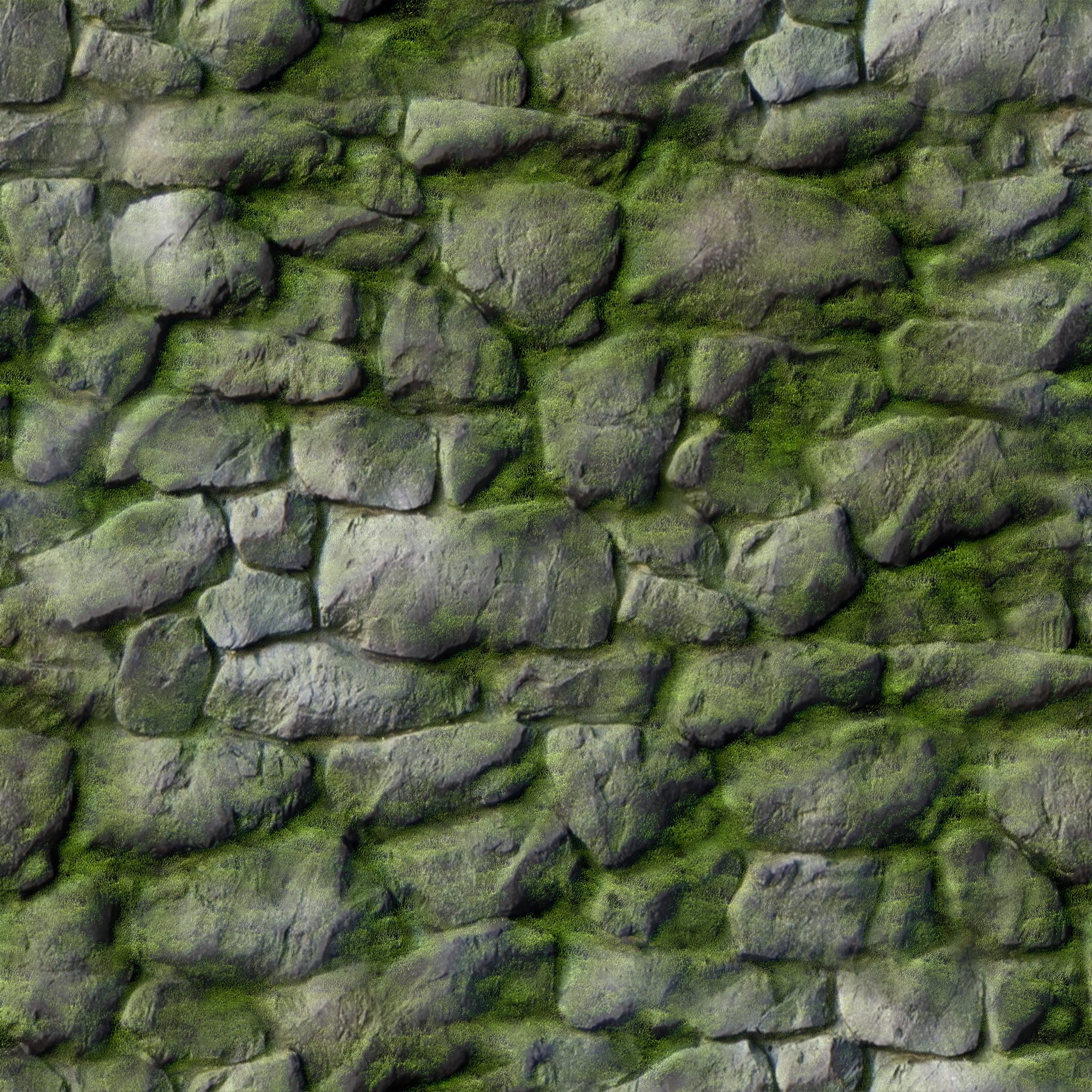 Rock Wall + Snow/Moss Varieties HD Texture Pack - SEAMLESS TEXTURES ...
