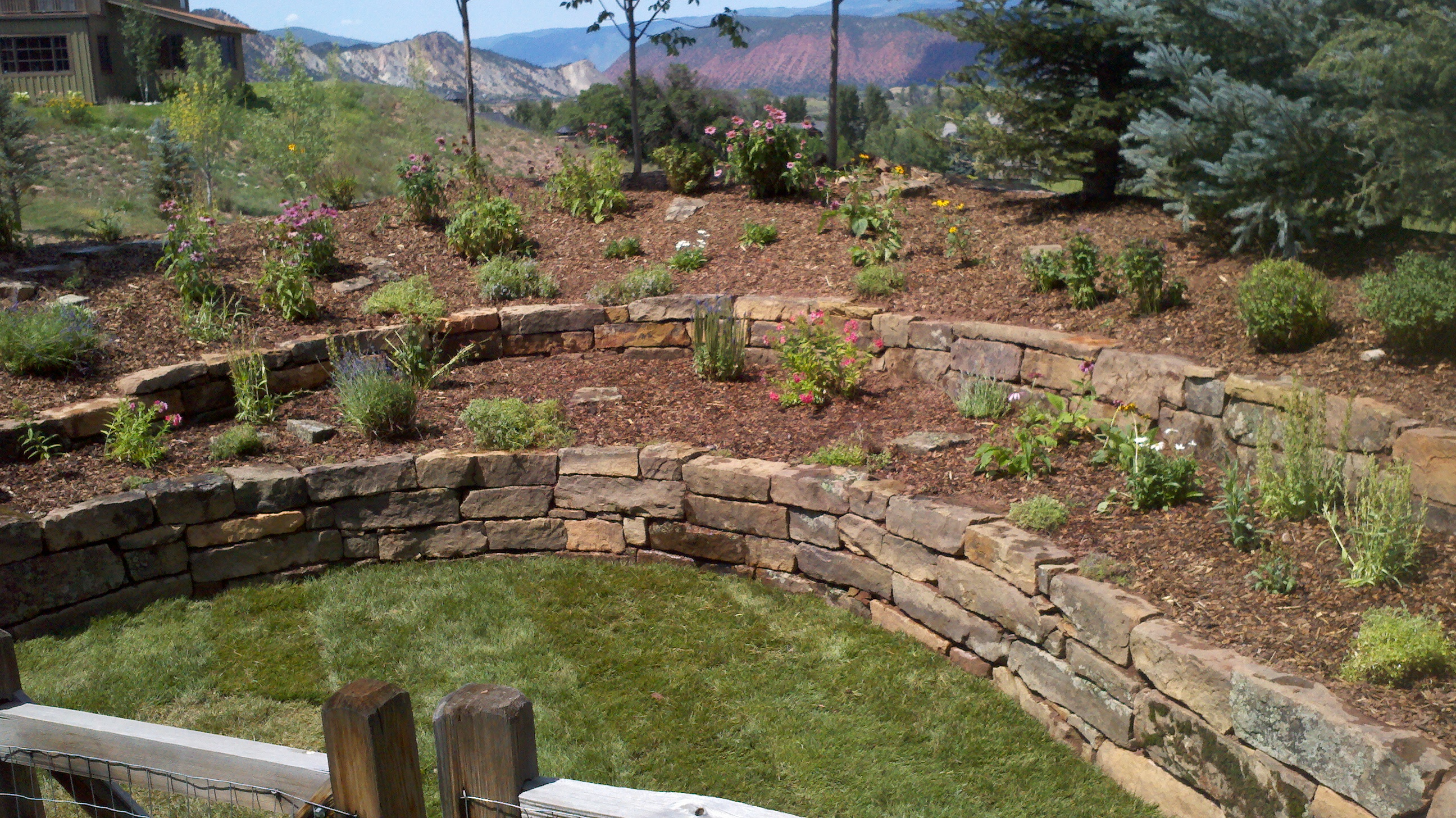 Stone Walls and Steps - inSite Landscape