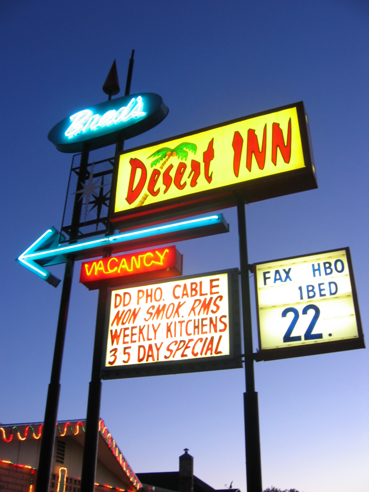 Vacancy: Old Motel Sign Design – Don't touch that dial . . . Leave ...