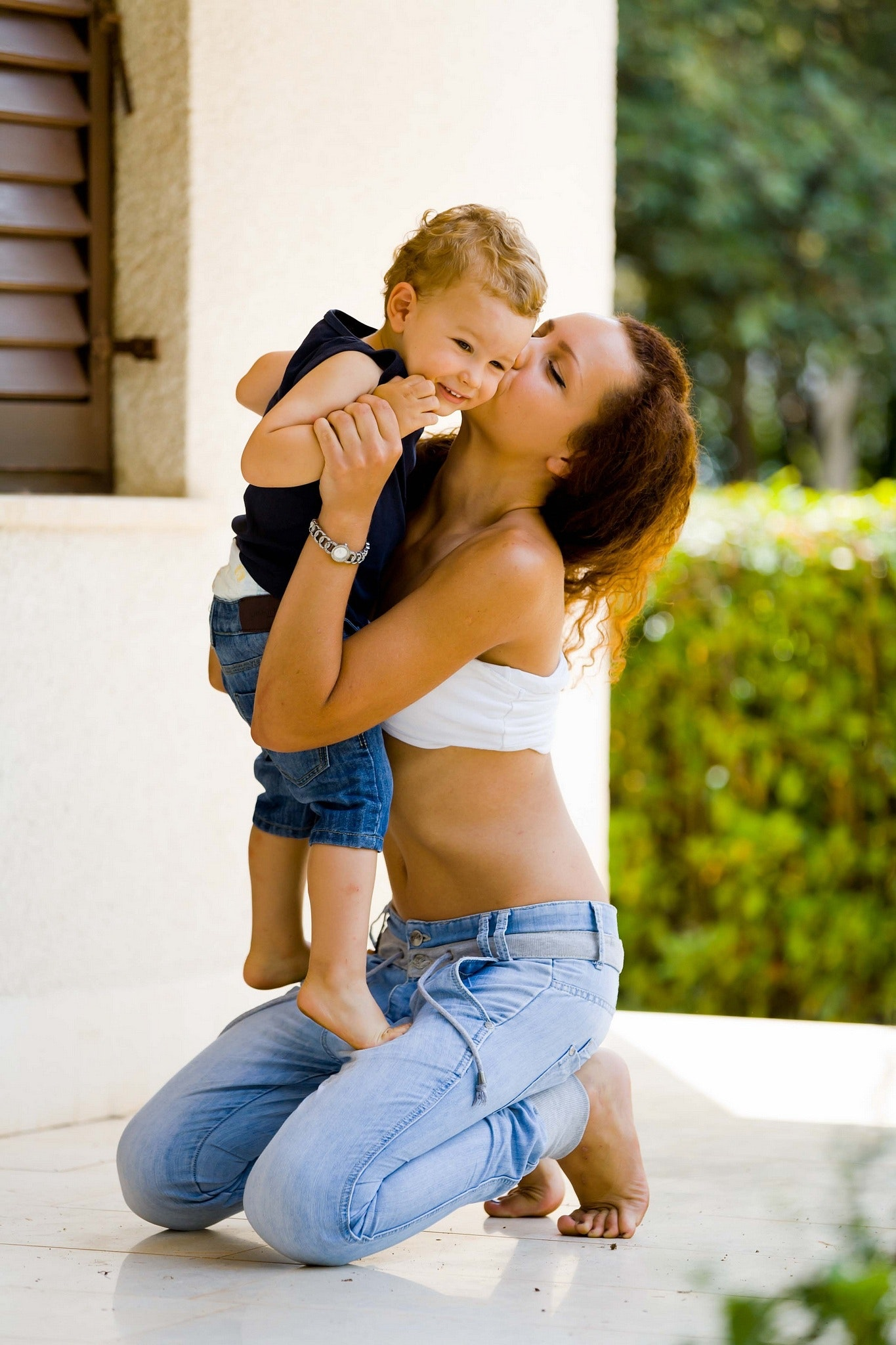 Mother And Son Bonding, Affection, Leisure, Togetherness, Together, HQ Photo