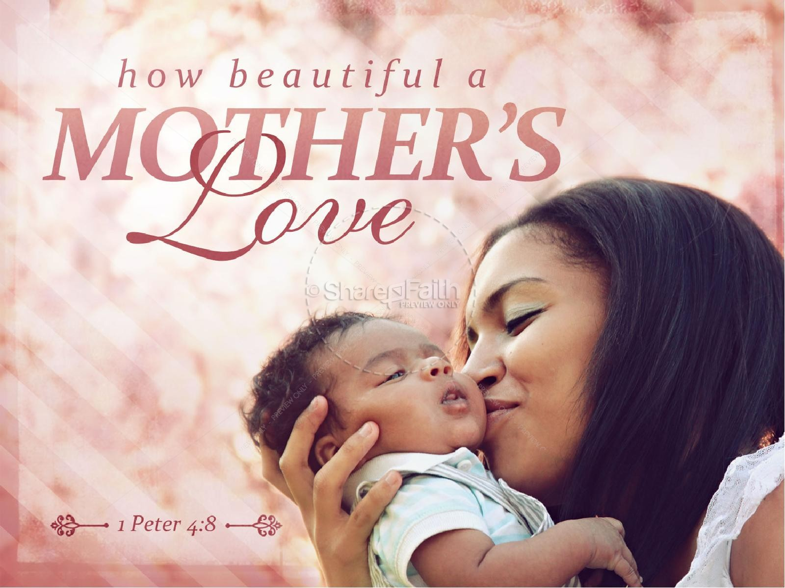 Mother's Love PowerPoint Slides | Mothers Day PowerPoints