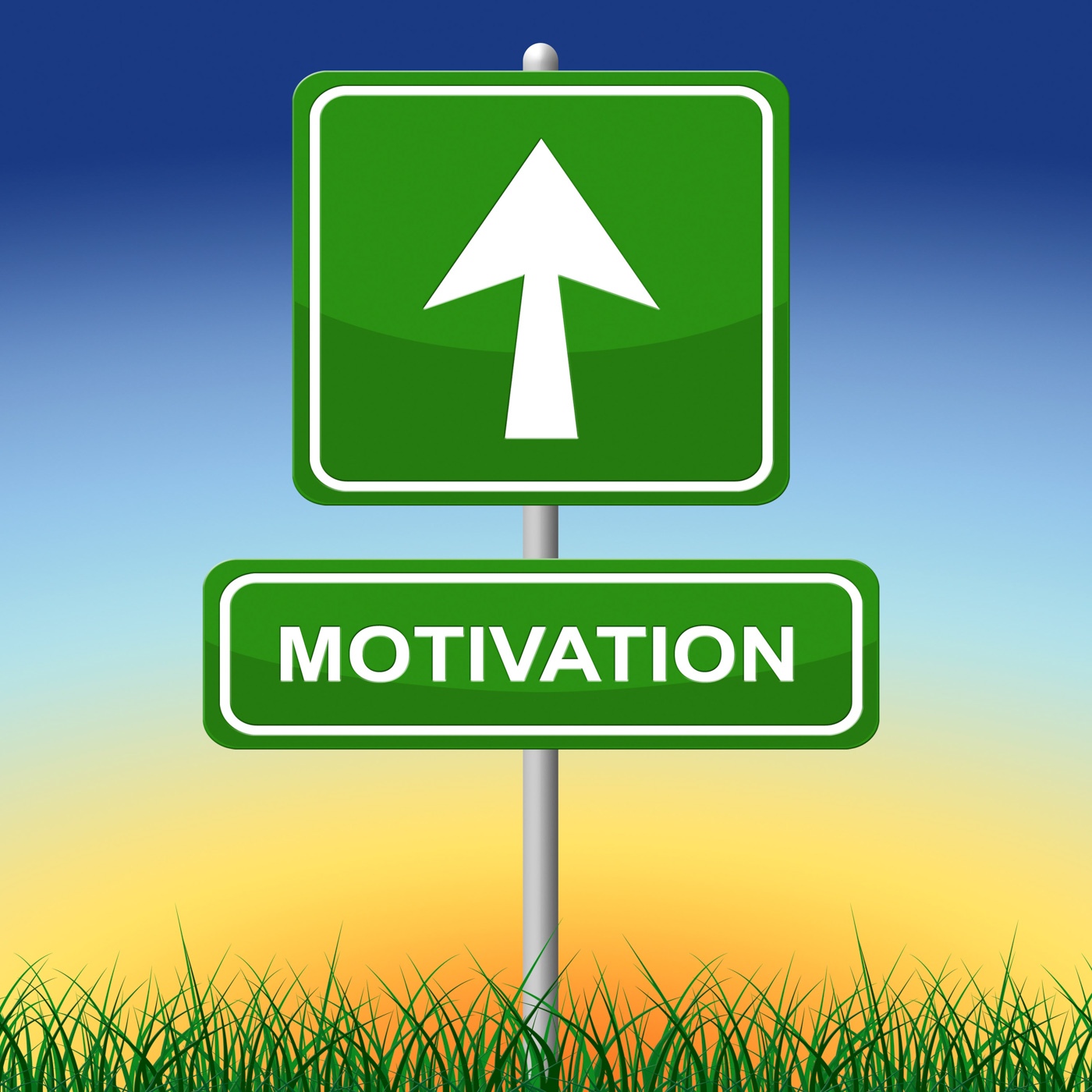 Motivation sign represents do it now and advertisement photo