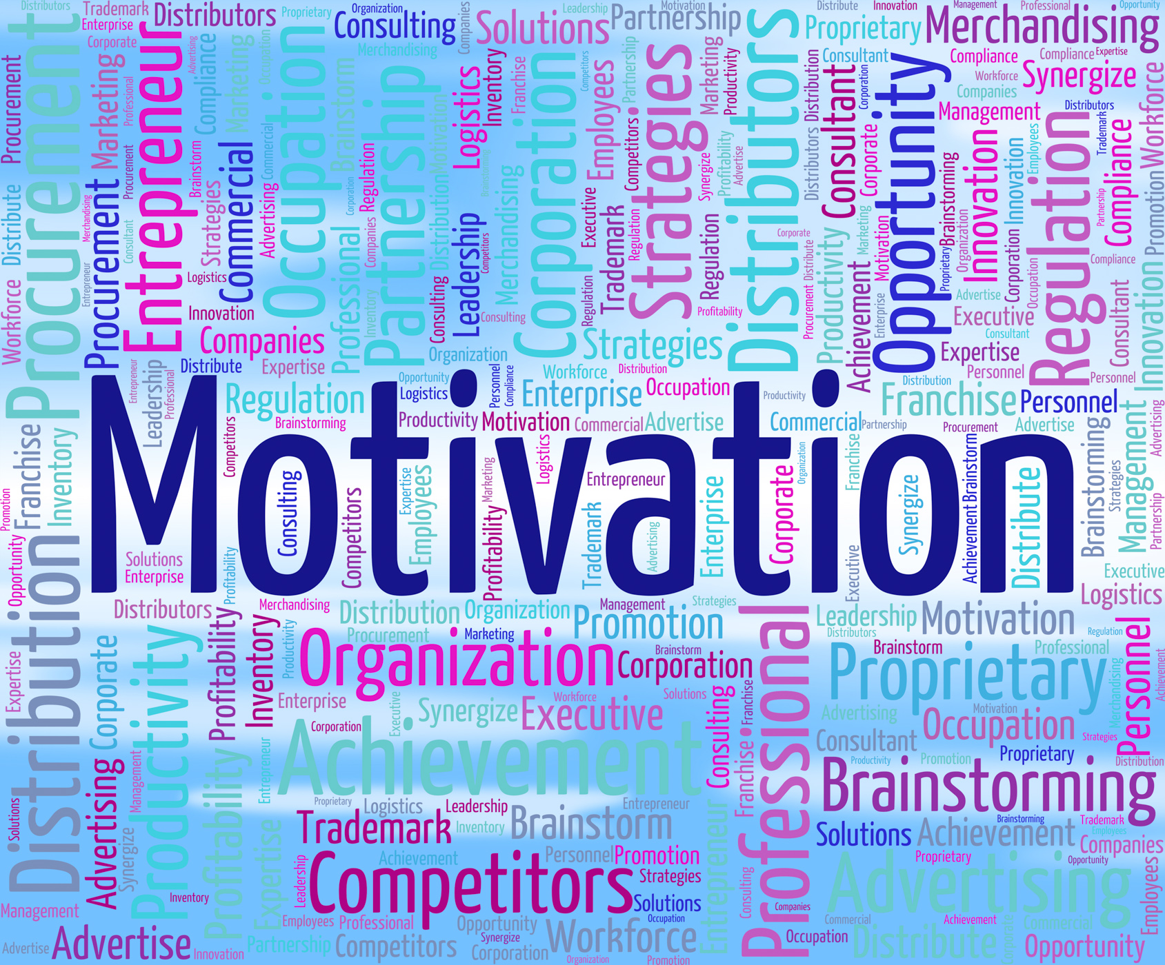 Motivation word represents do it now and motivate photo