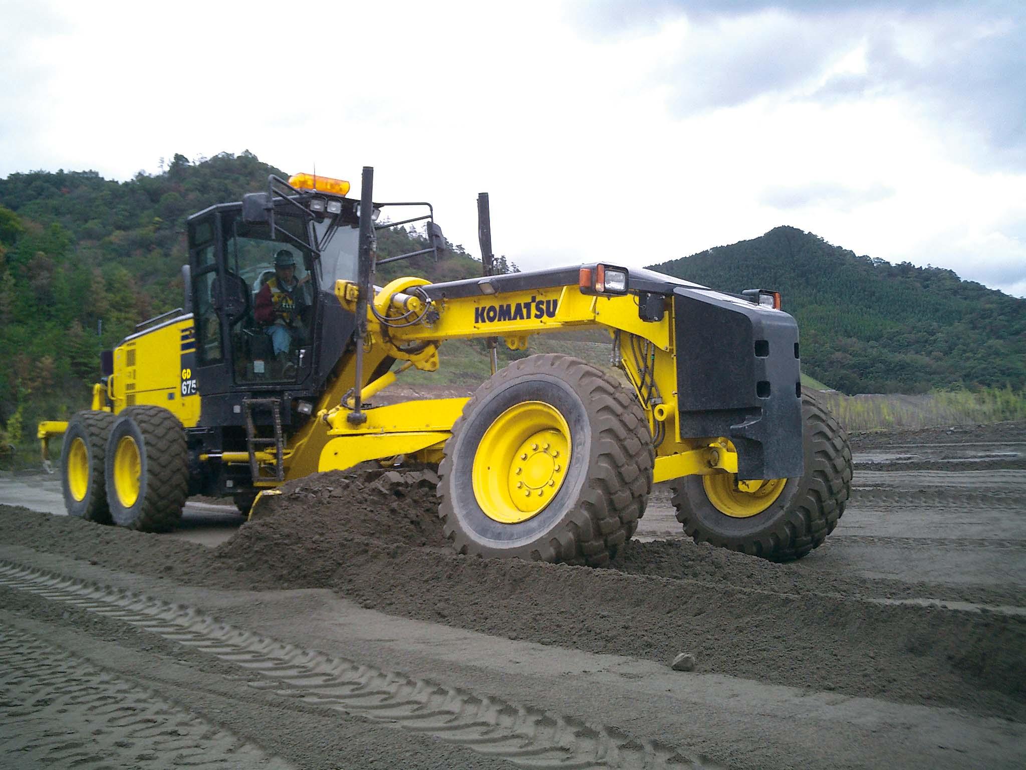 KOMATSU : Motor Graders - Construction & Mining Equipment