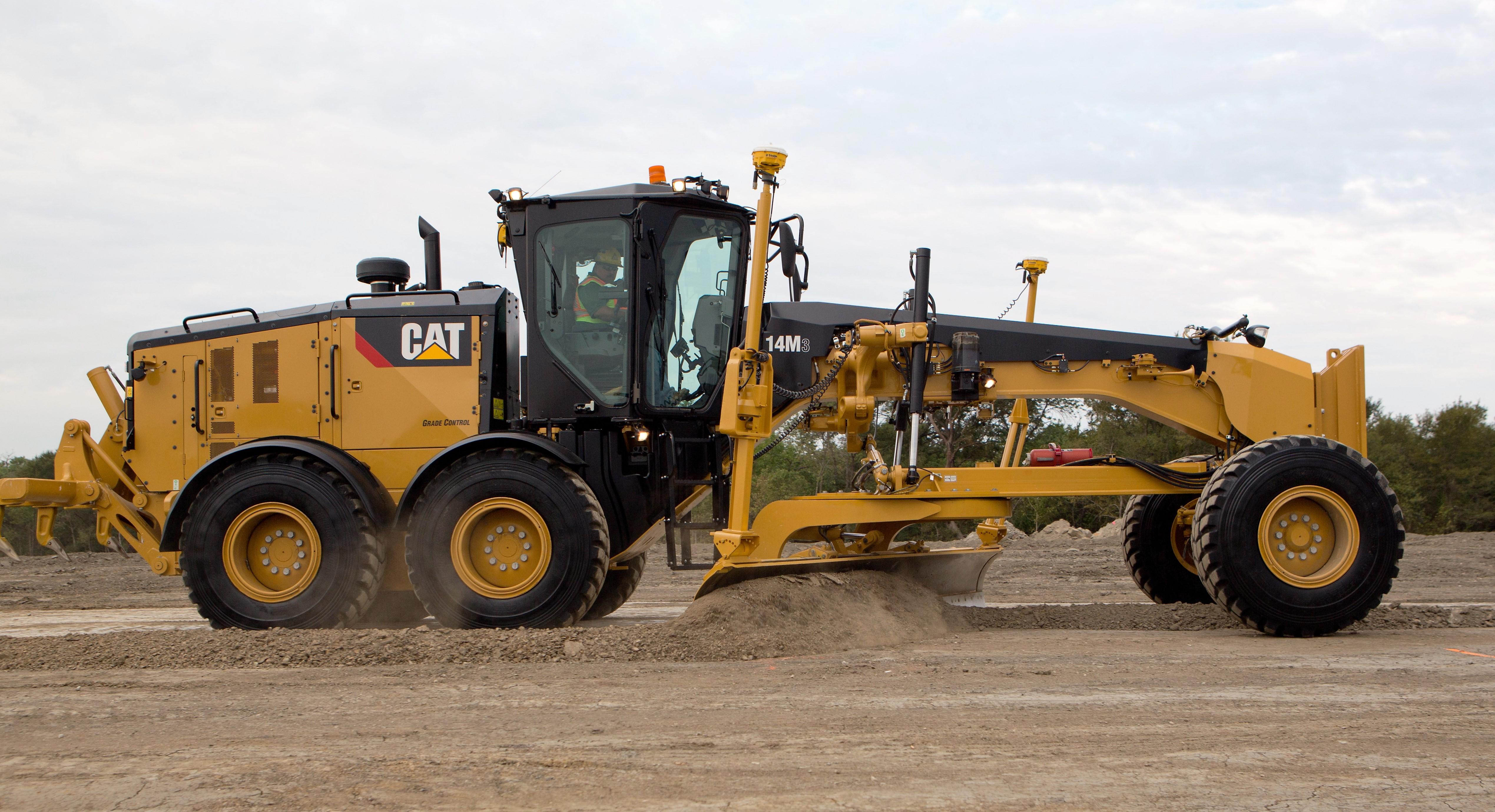 Featured Product: Caterpillar's 14M3 Motor Grader