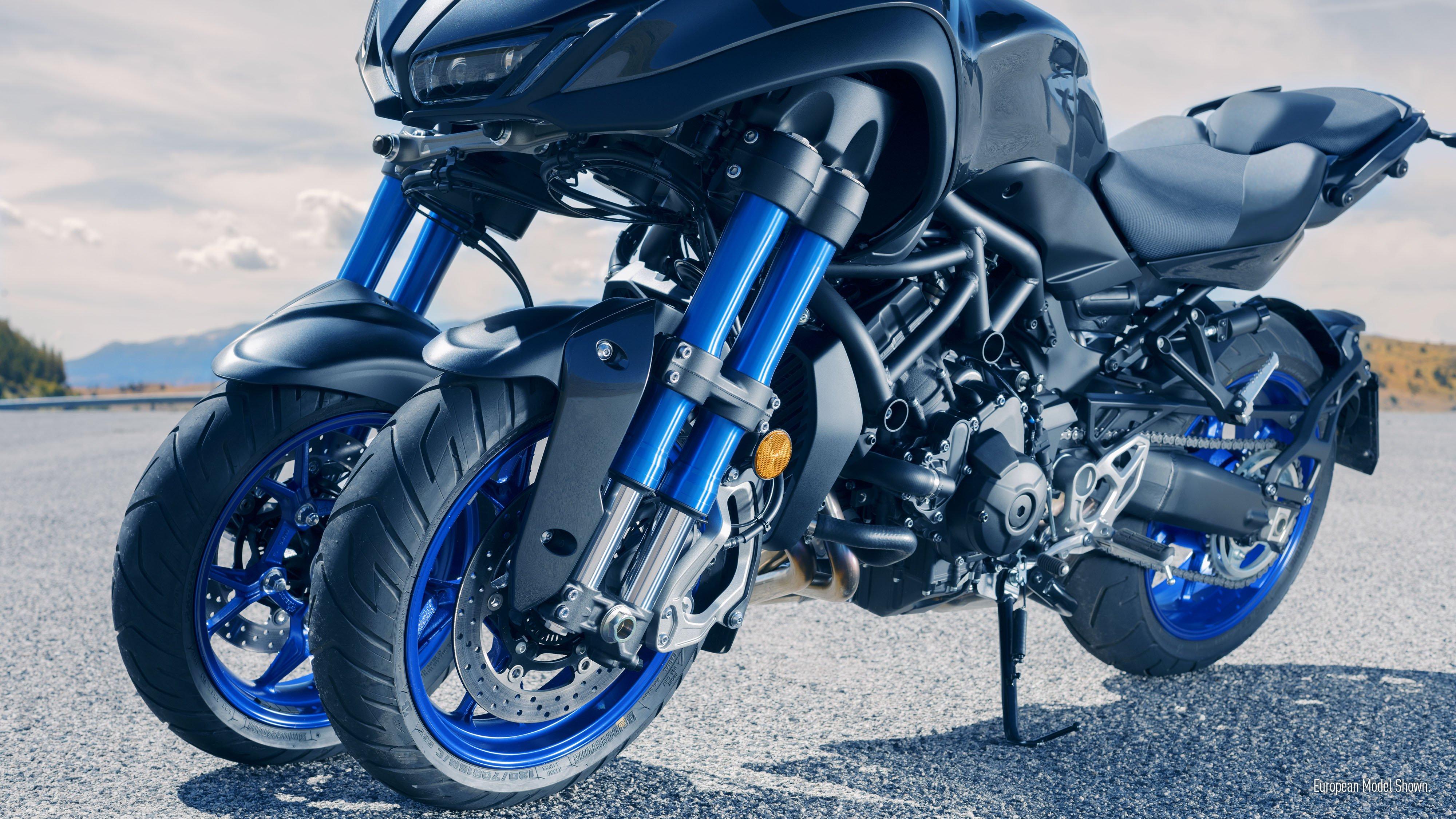 Three-Wheeled 2019 Yamaha Niken Coming to US
