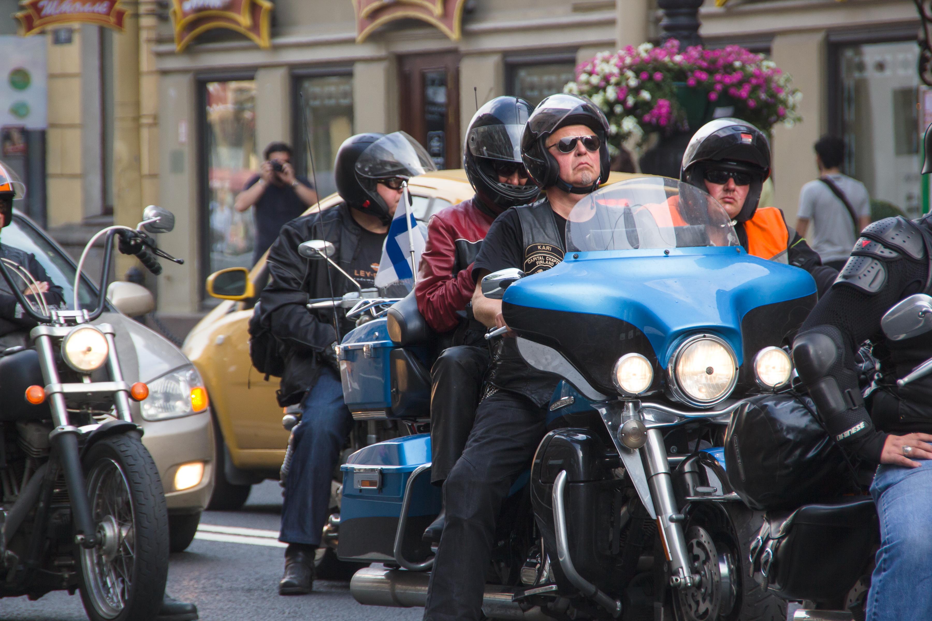 motorcyclists, Adult, Motor, Transportation, Transport, HQ Photo