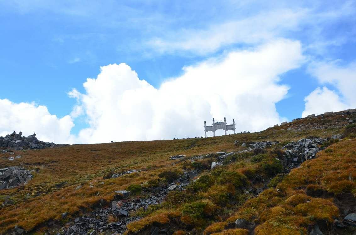 Mount wutai landscape photo