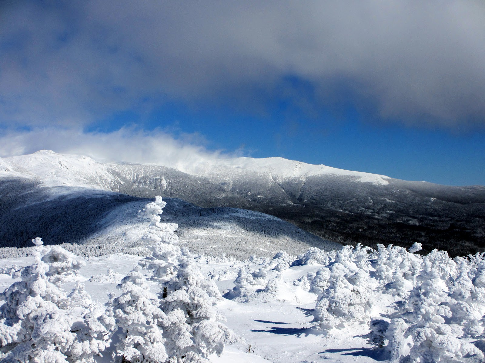 Winter Hiking on Jackson & Pierce in the White Mountains | Wes ...