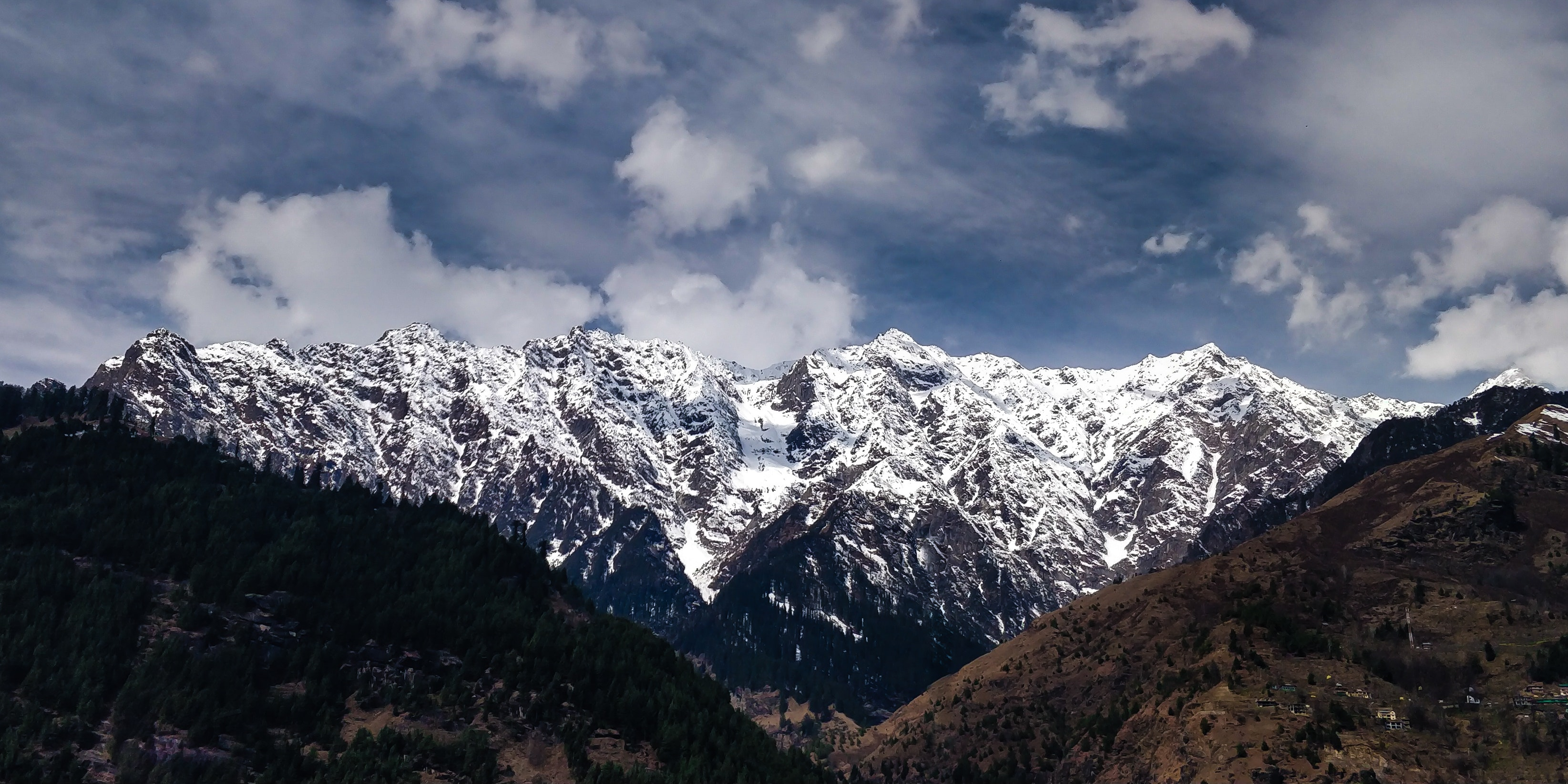 Mountain during Winter, Adventure, Mountain, Valley, Trees, HQ Photo