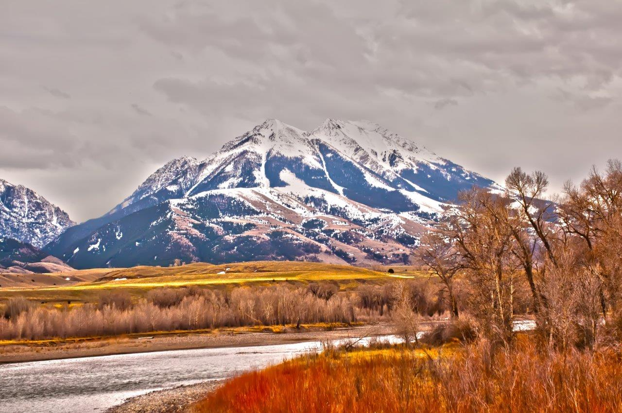 Mountain Landscape, Blue, Summer, Peaceful, Ridge, HQ Photo