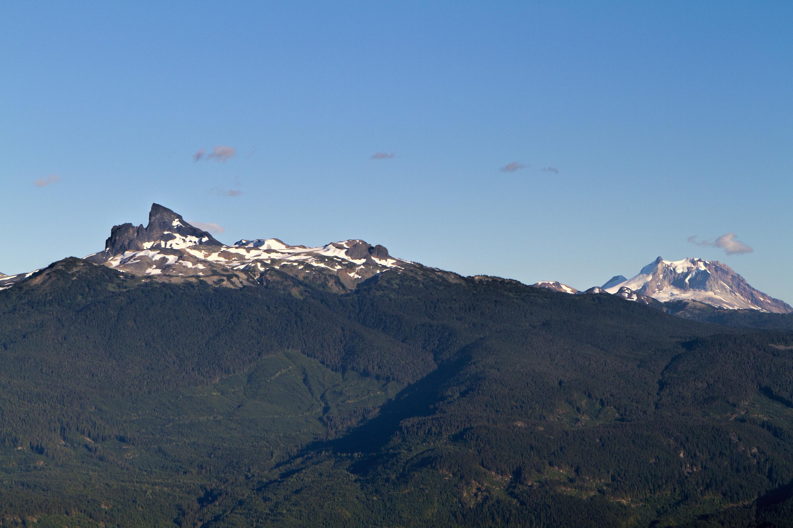 Mountain landscape photo