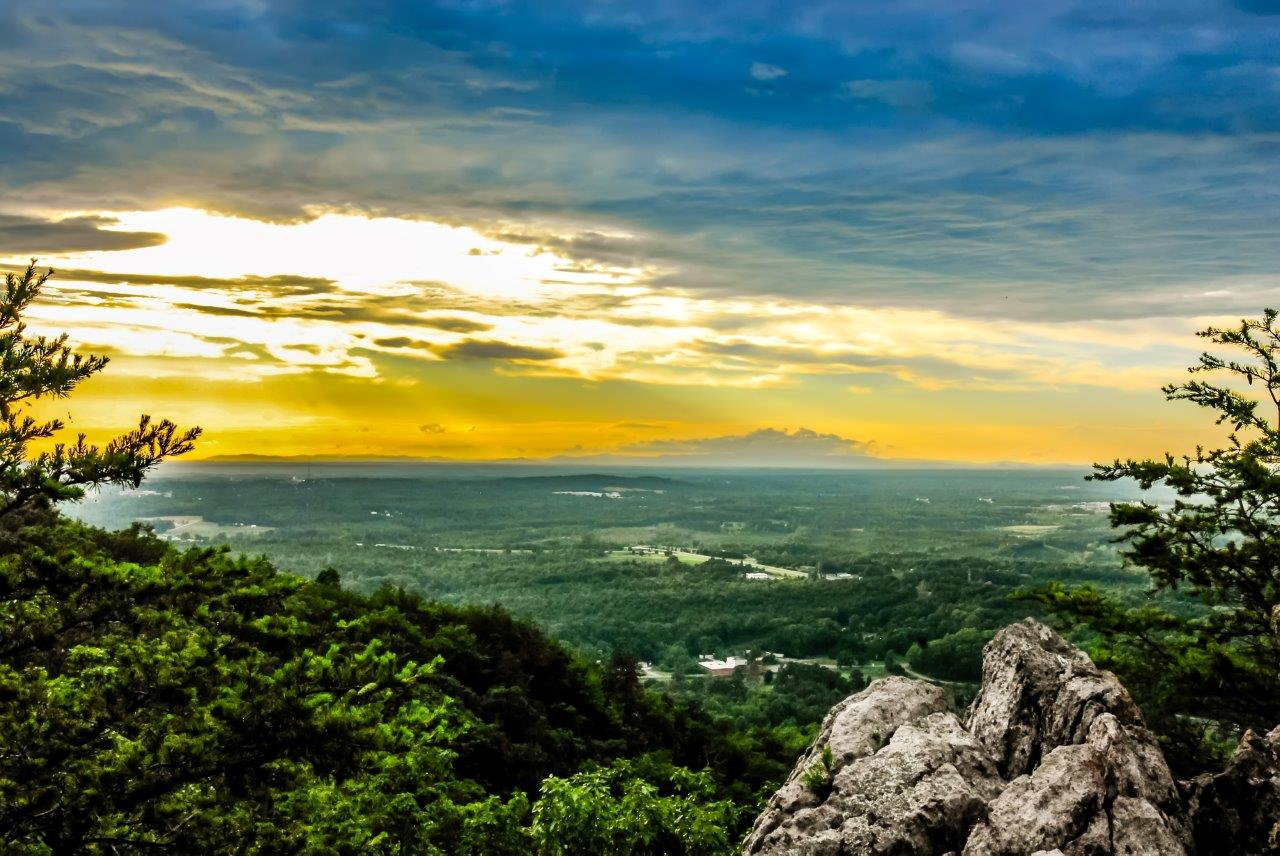 Mountain Landscape, Forest, Landscape, Mountains, Nature, HQ Photo