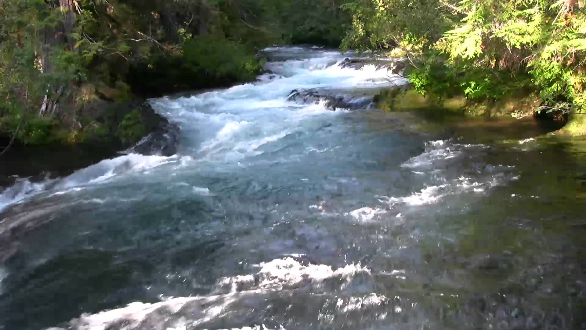 Very Relaxing 3 Hour Video of a Mountain Stream - YouTube