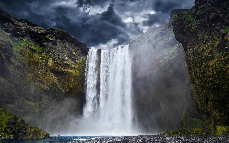 Free photo mountain waterfall outdoors nature river free mountain waterfall altavistaventures Images
