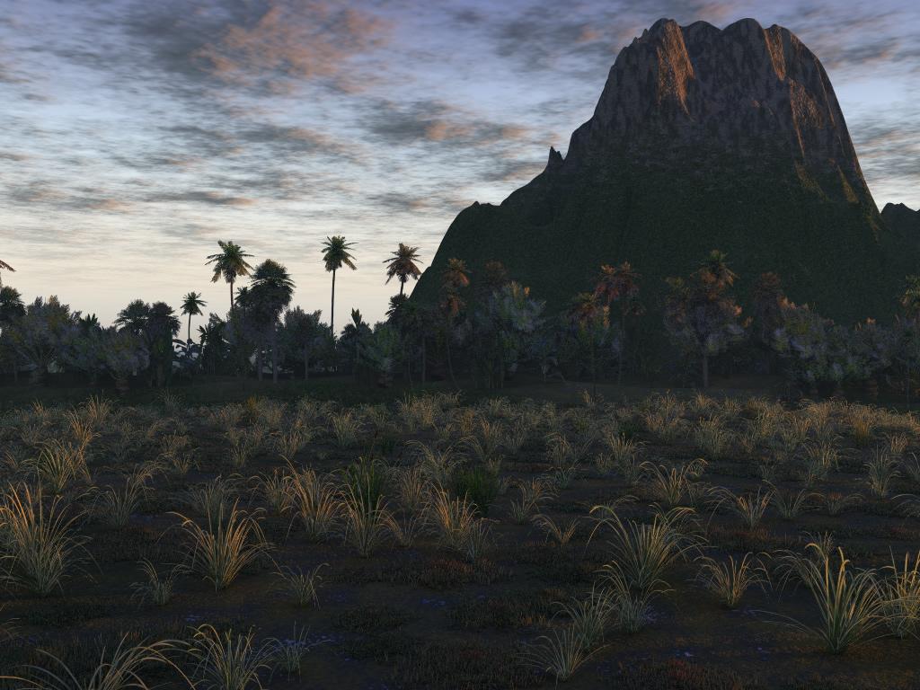 Mountain, 3d, Landscape, HQ Photo