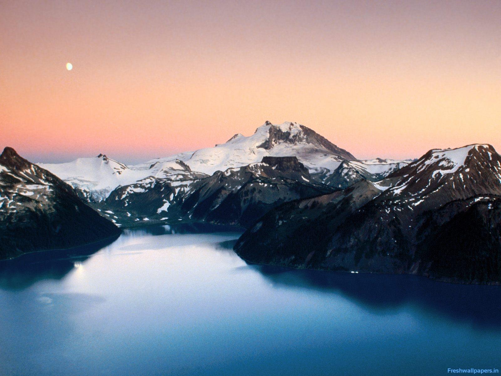 Mountainous Terrain, Canada wallpapers