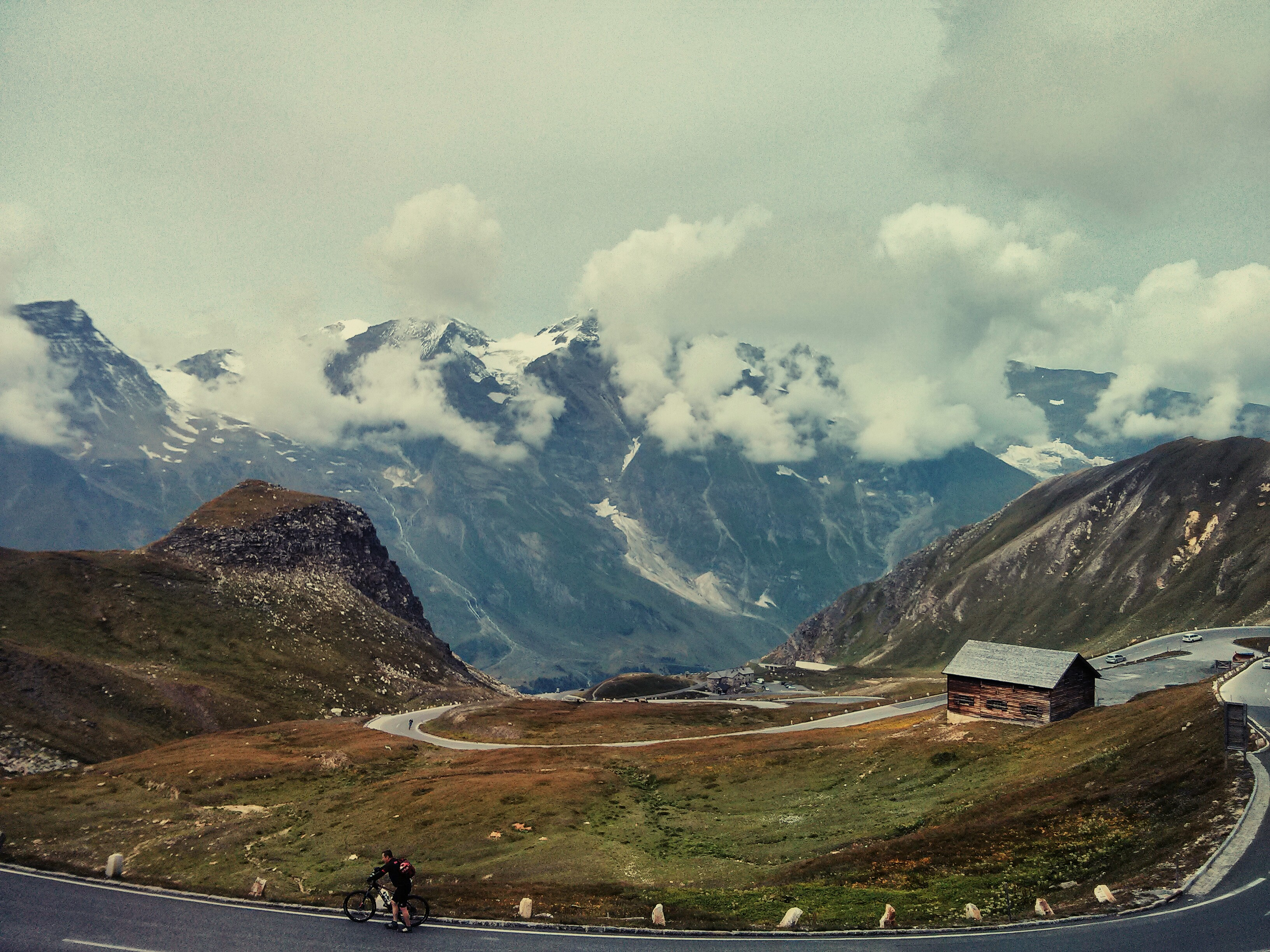 Mountains In Austria, Activity, Austria, Clouds, Cycle, HQ Photo