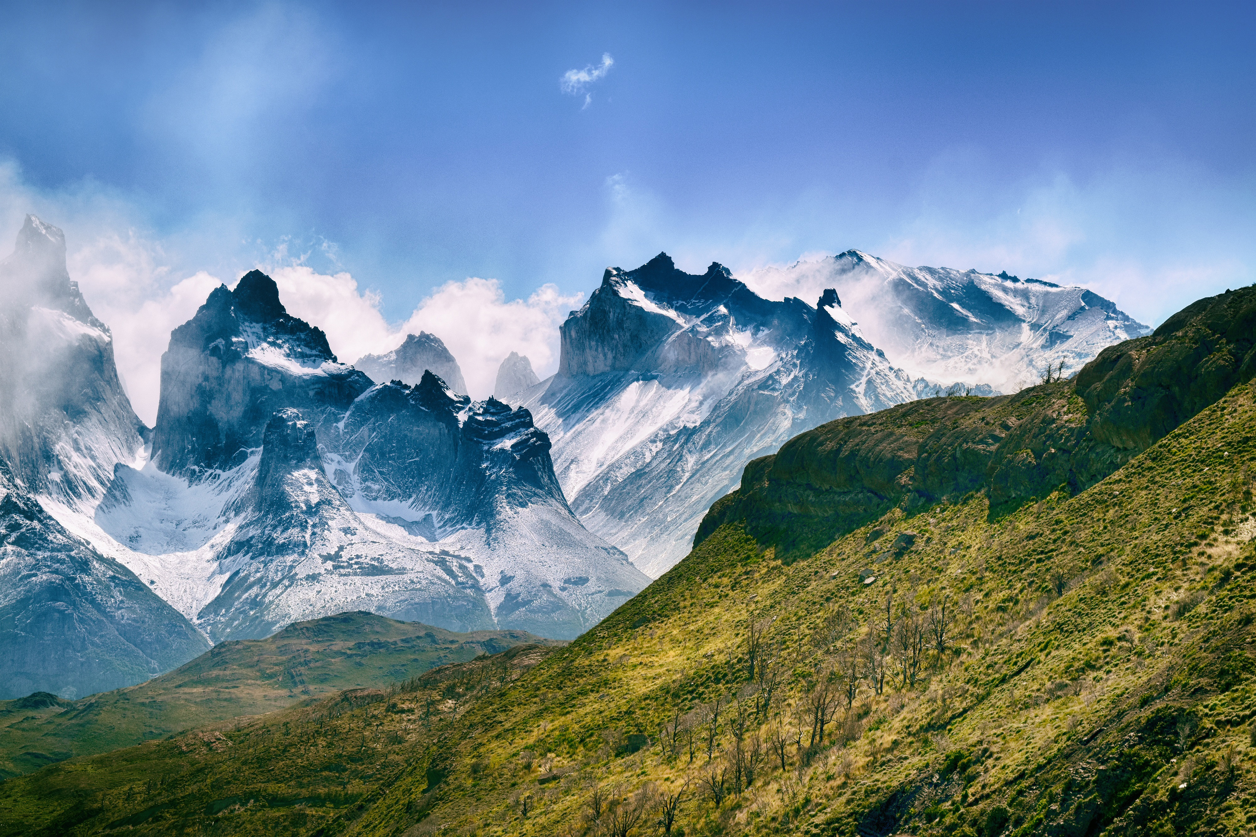 Mountains in chile photo
