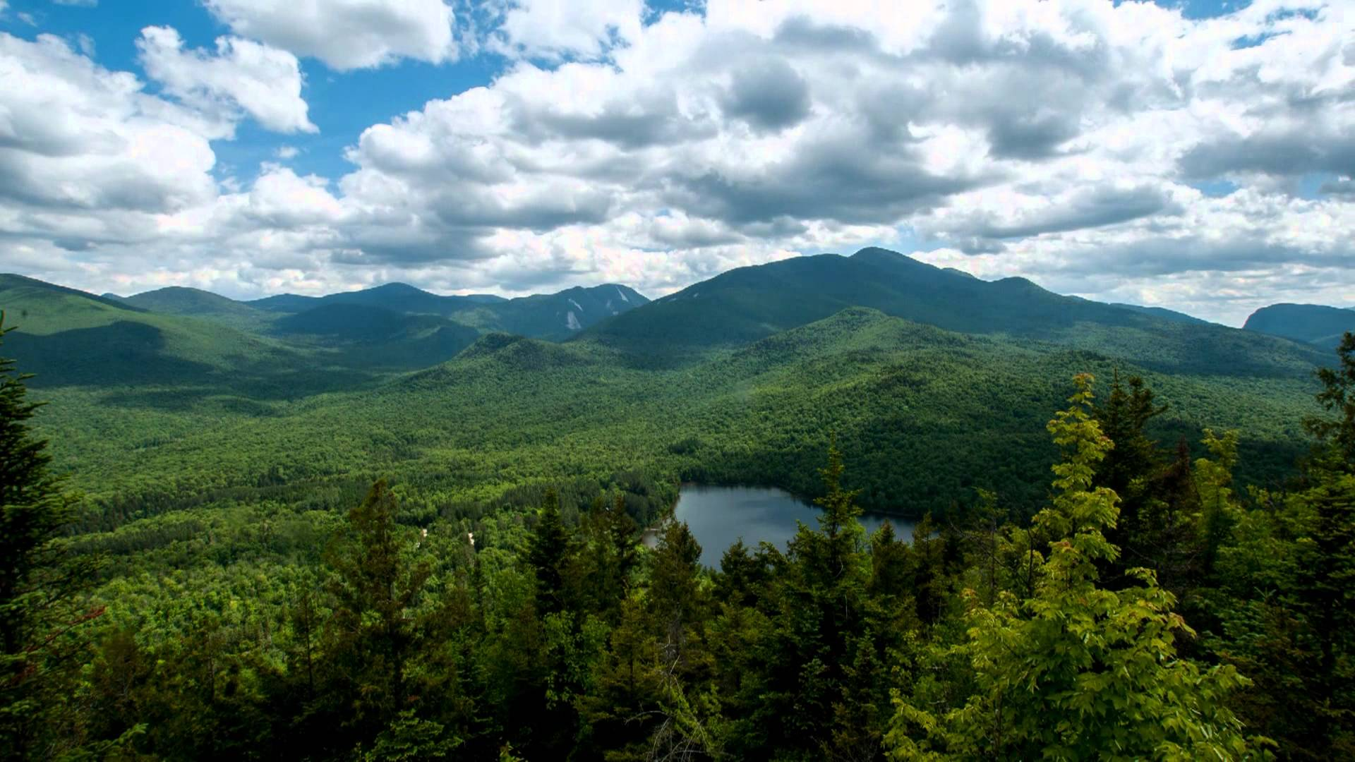 Adirondack Mountains View From Mt. Jo - YouTube