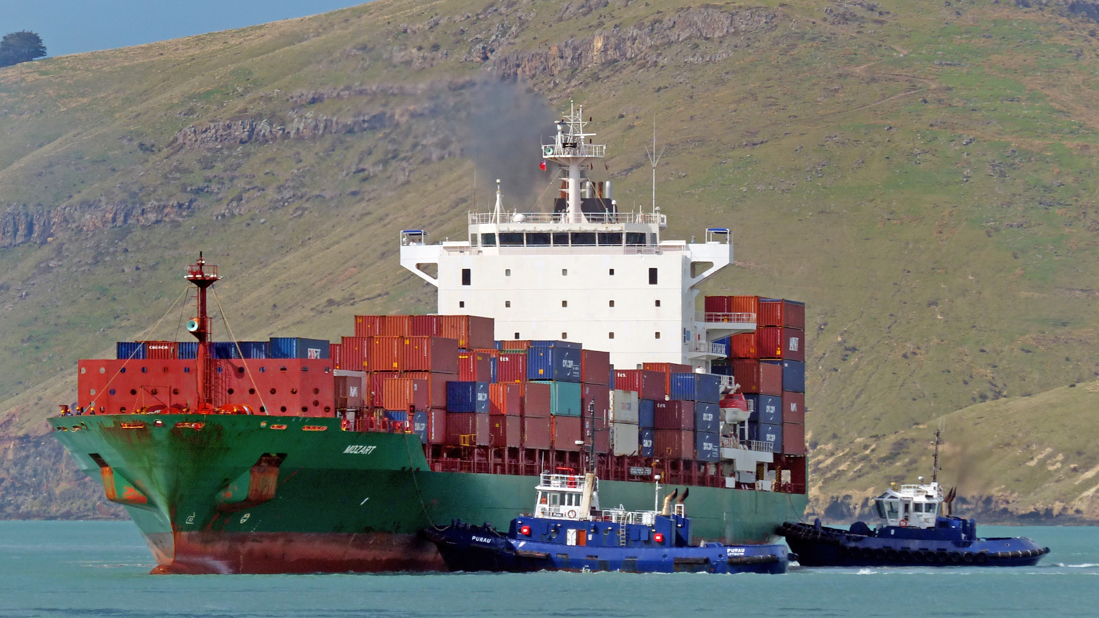 Mozart. container ship. photo