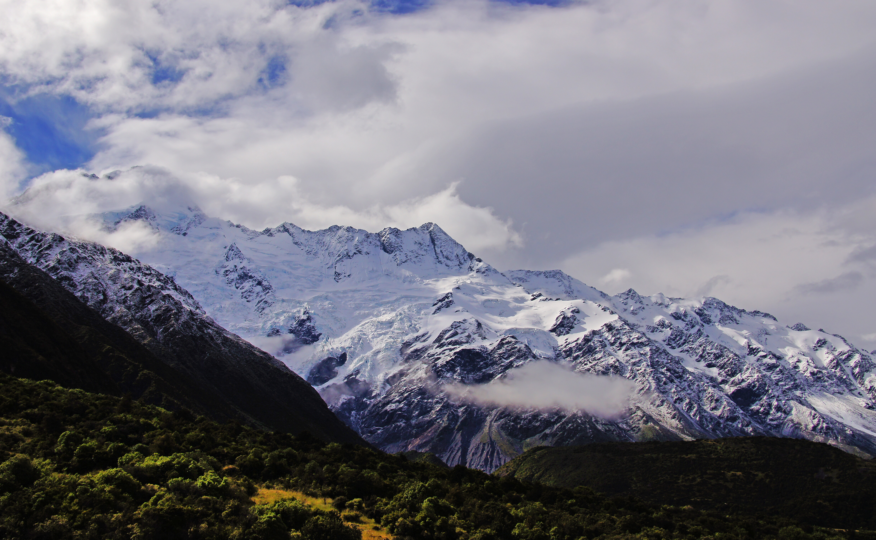 Mt cook national park (3) photo